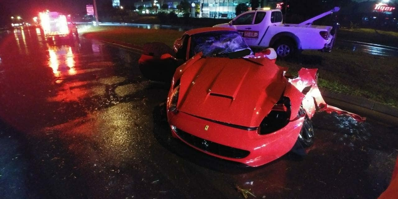 Ferrari California Johannesburg crash (5)