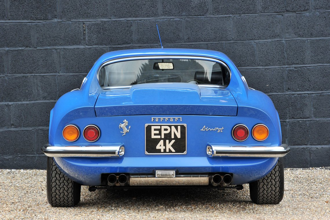 Ferrari Dino in Azzuro Dino color (2)