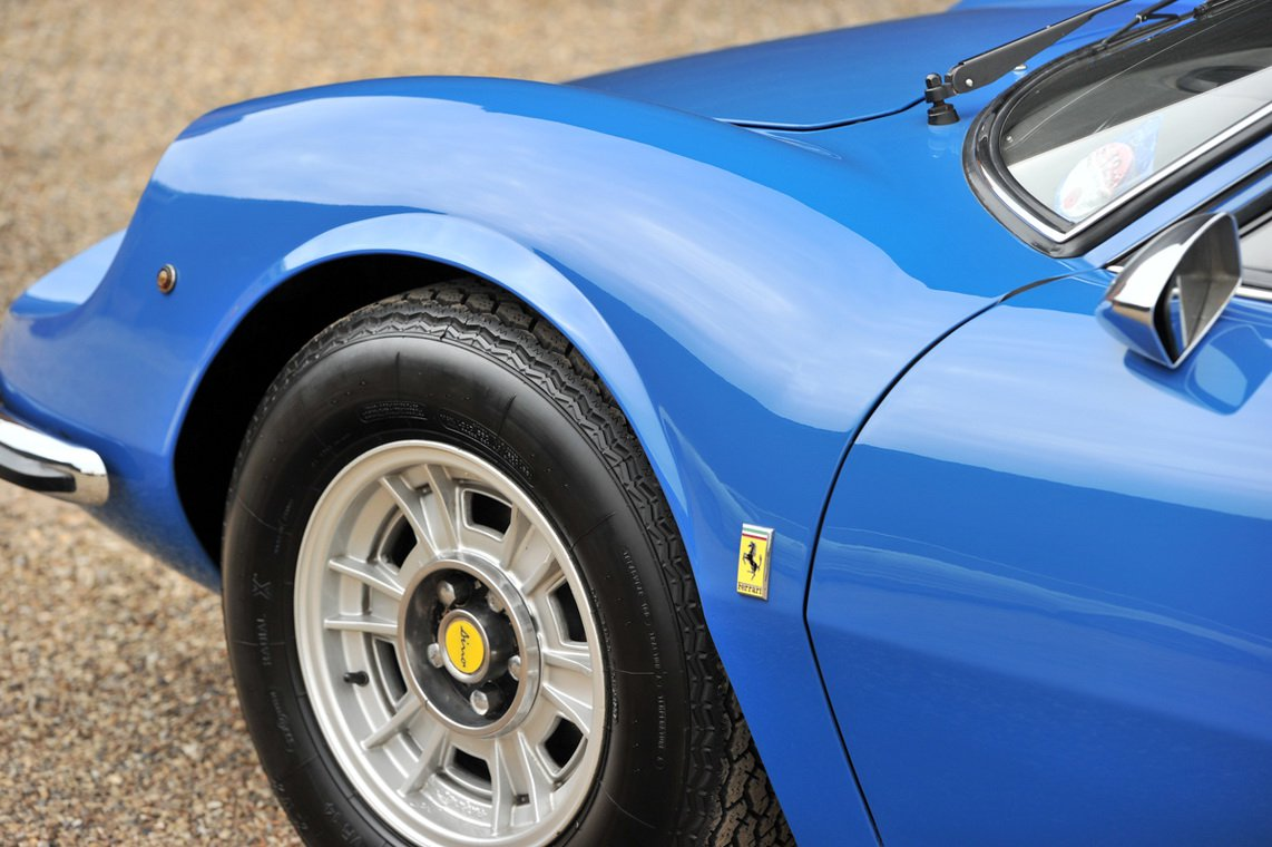 Ferrari Dino in Azzuro Dino color (9)
