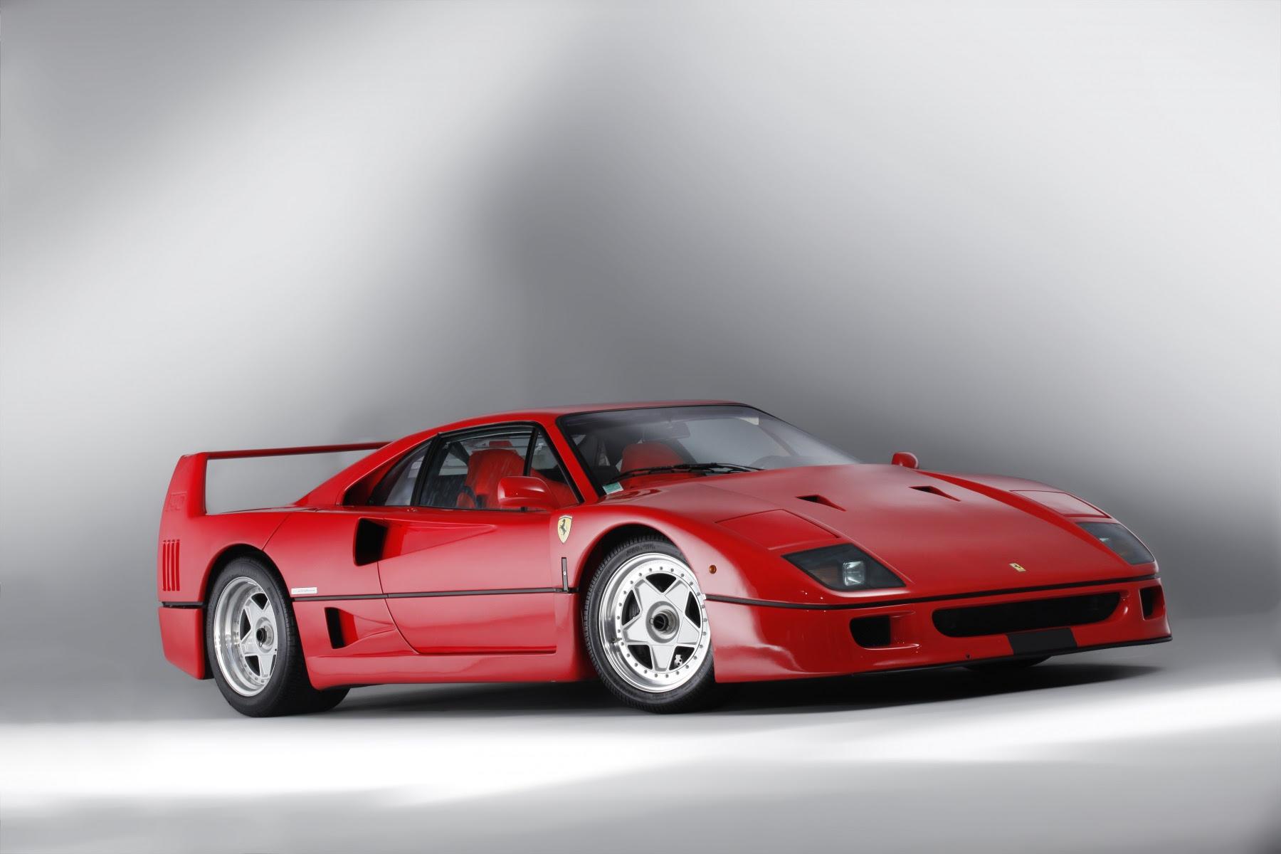 Ferrari F40 ex Pierluigi Martini (1)