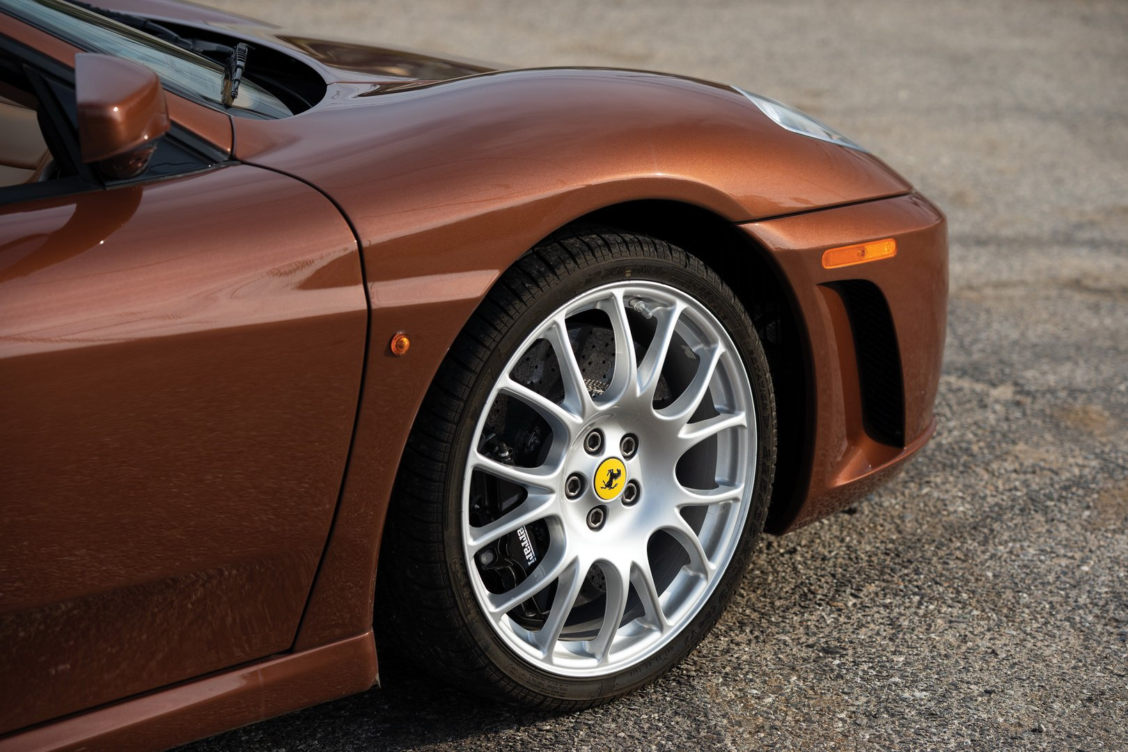 Ferrari F430 Spider in brown Classic Marrone color (12)