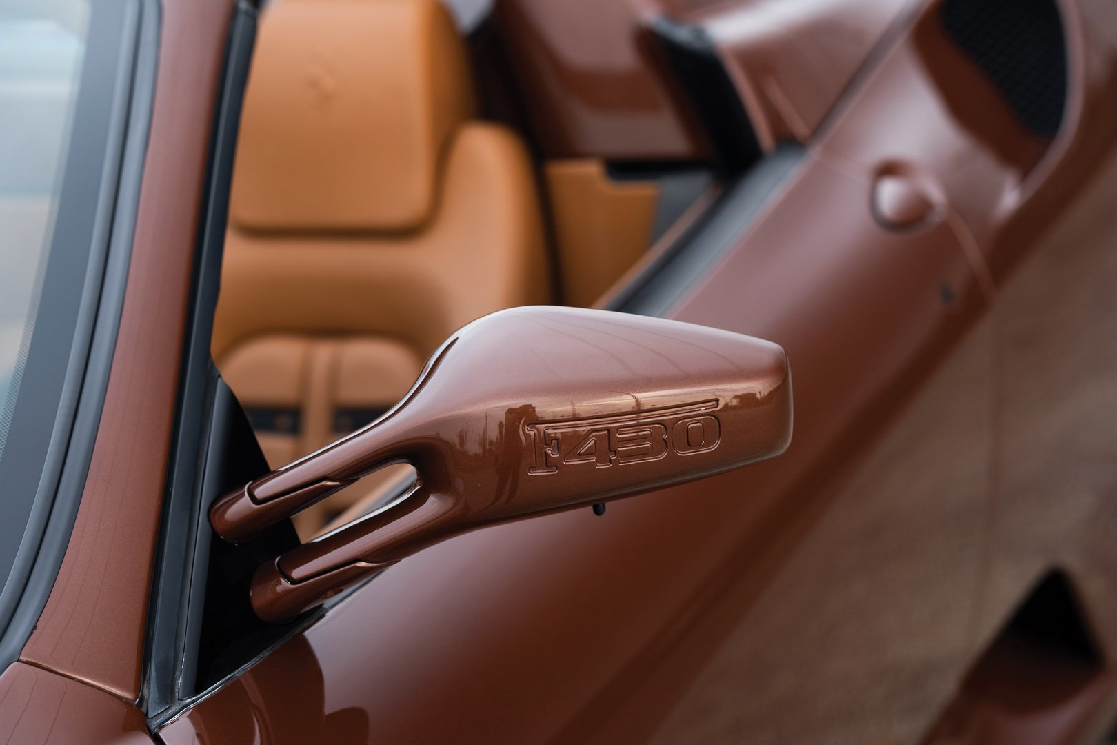 Ferrari F430 Spider in brown Classic Marrone color (13)