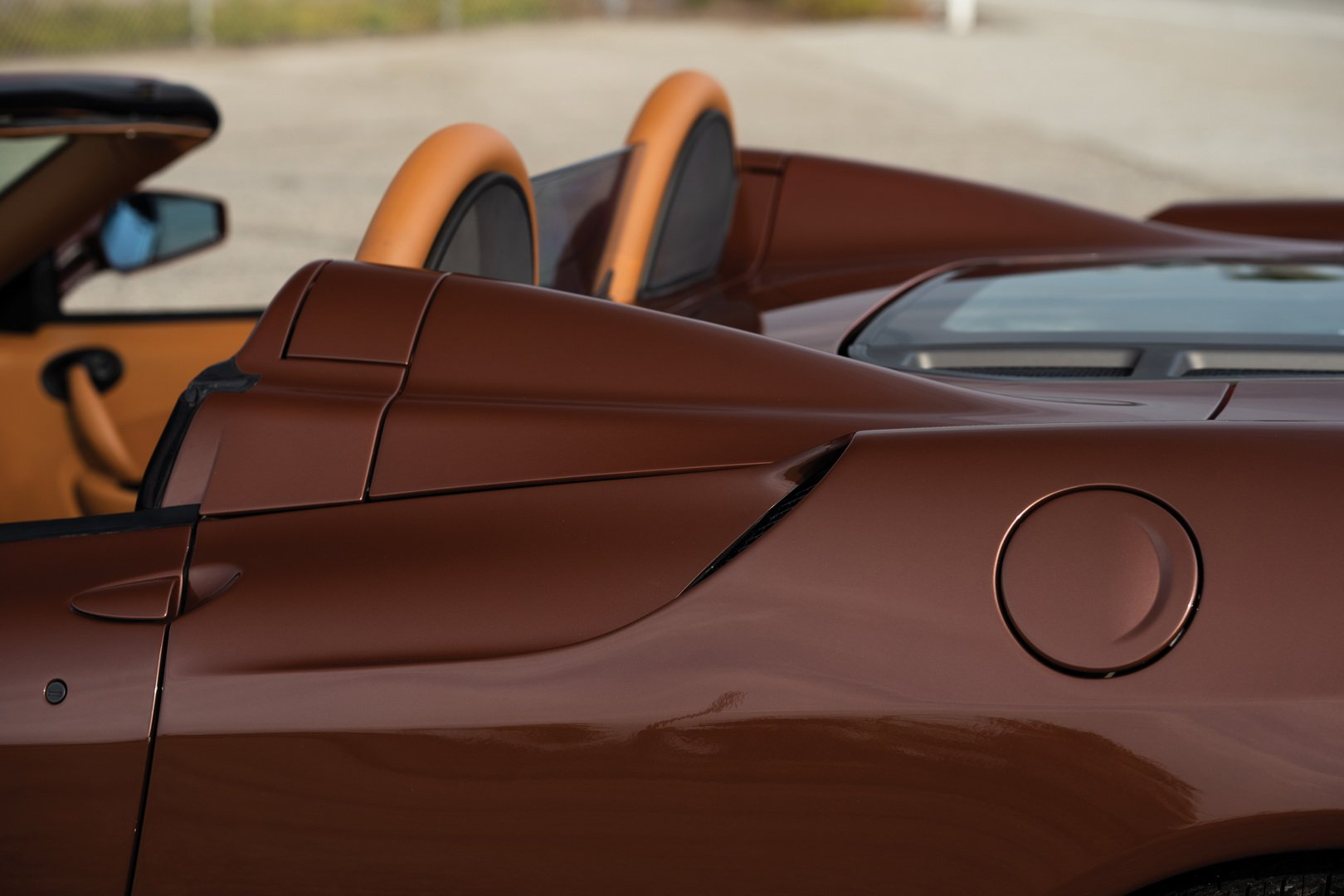 Ferrari F430 Spider in brown Classic Marrone color (15)