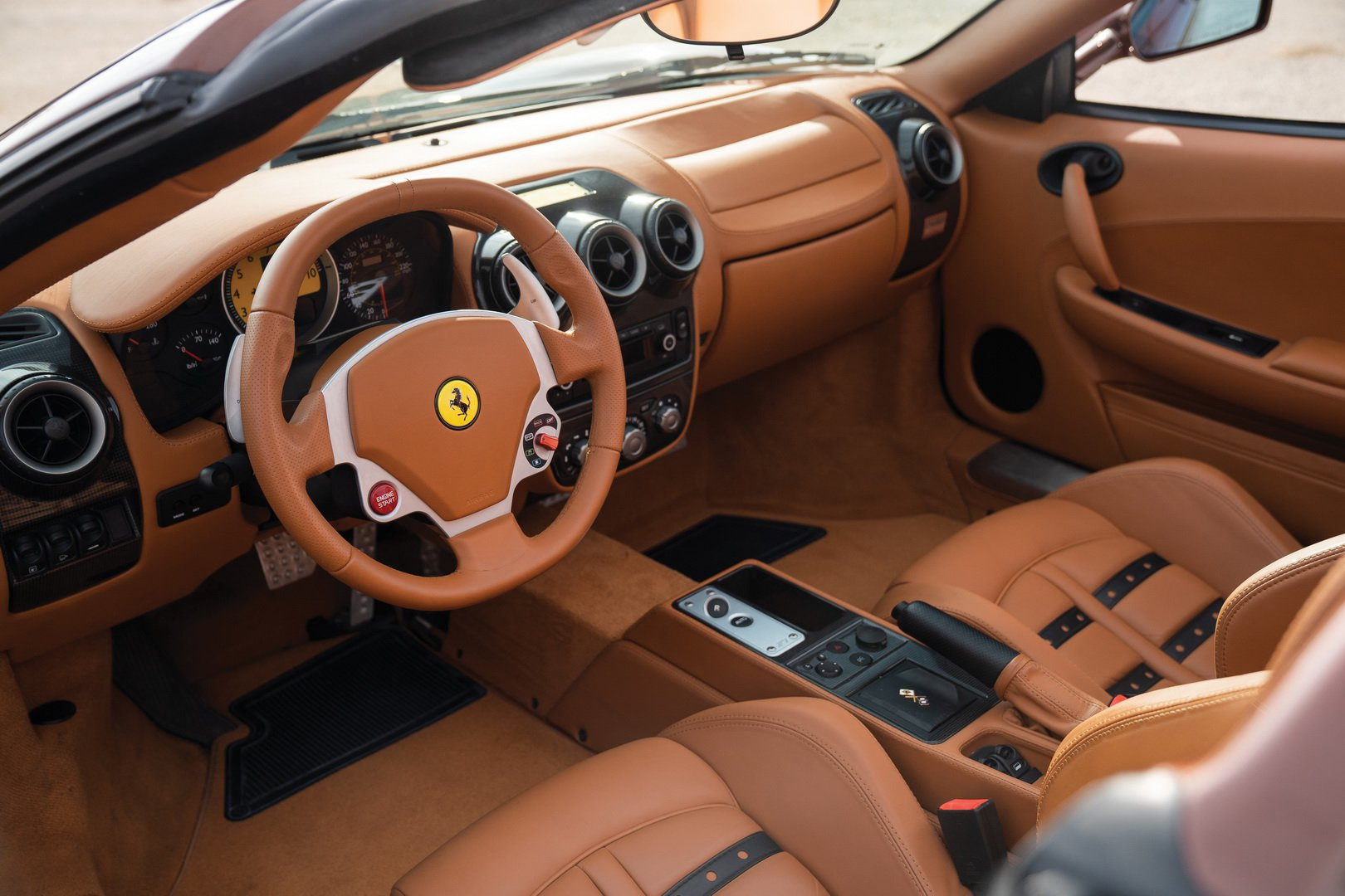 Ferrari F430 Spider in brown Classic Marrone color (21)