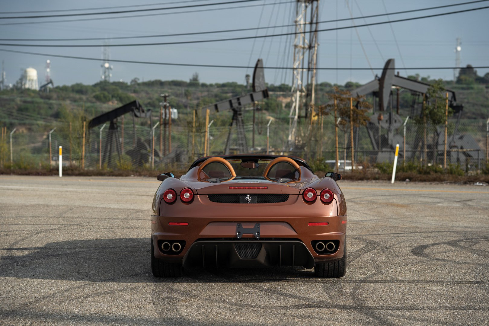 Ferrari F430 Spider in brown Classic Marrone color (5)