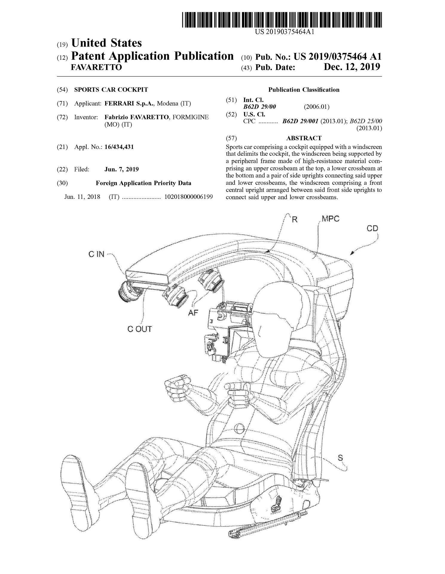 Ferrari-Halo-Cockpit-Pillar-Patent-1