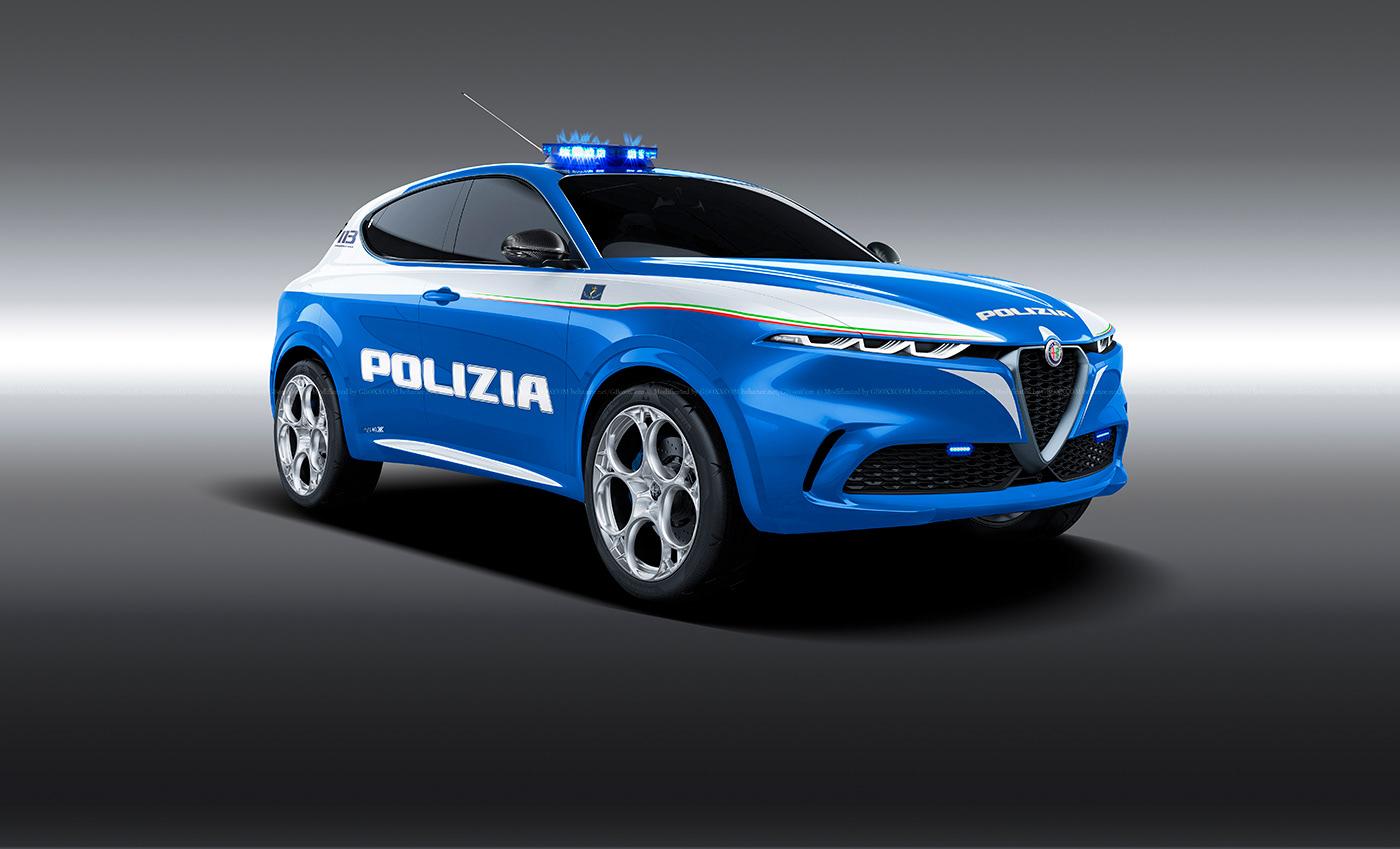 Alfa Romeo Tonale Polizia (1)
