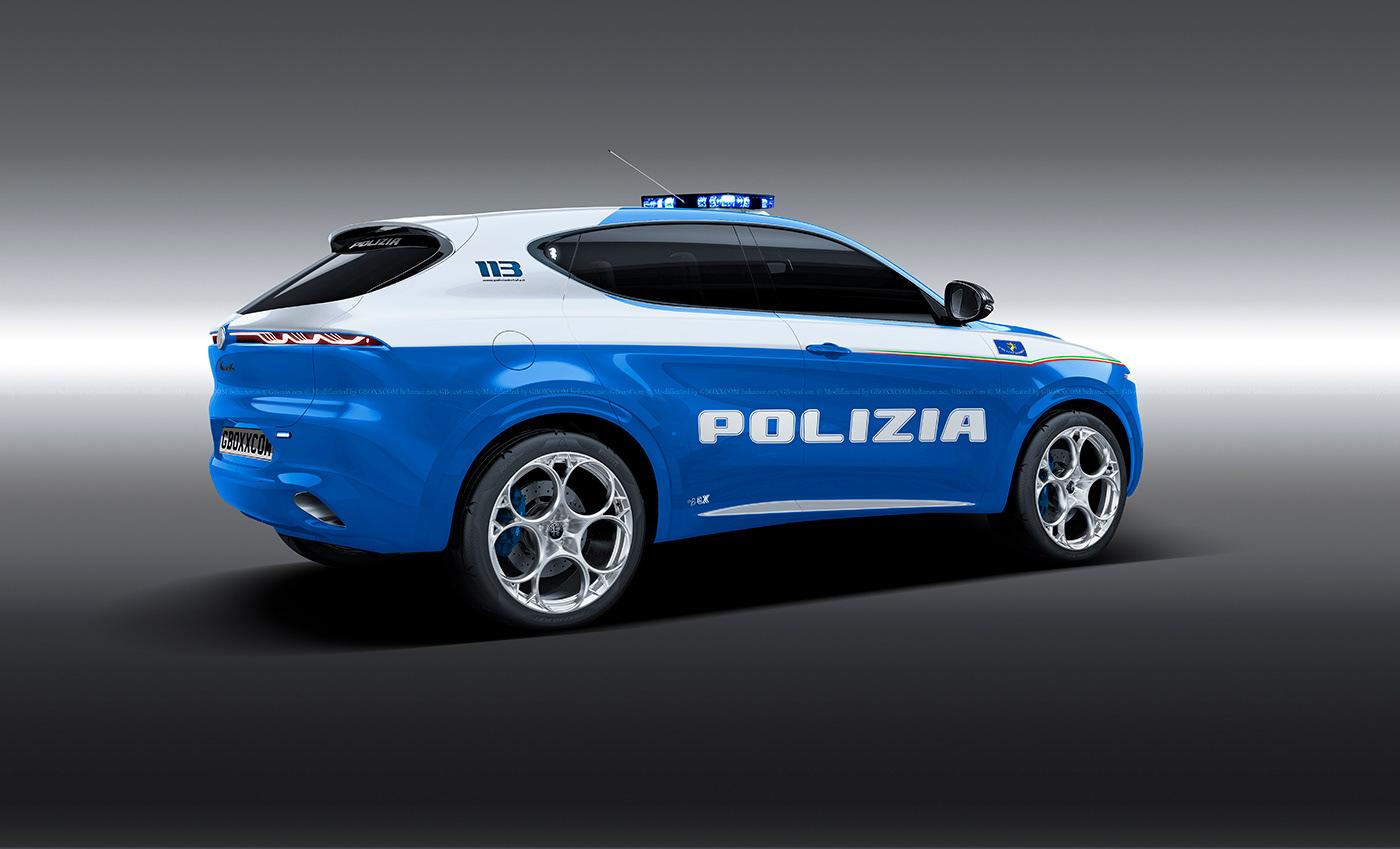 Alfa Romeo Tonale Polizia (2)