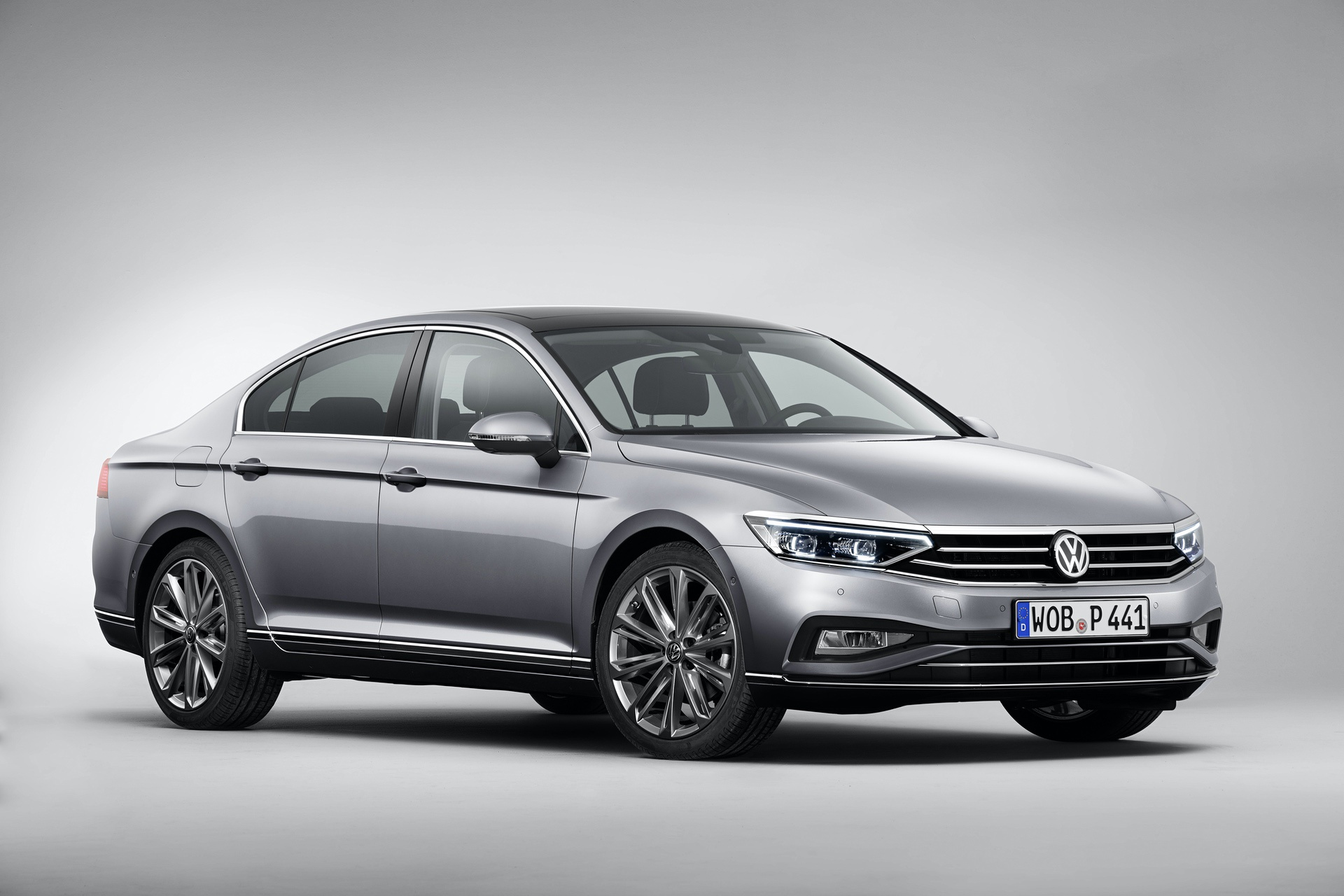 The new Volkswagen Passat