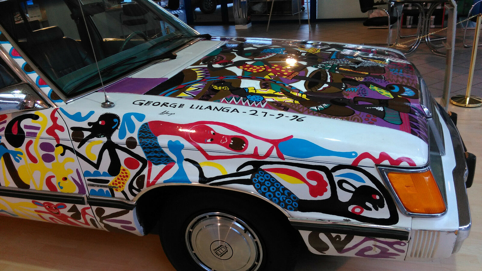 Ford LTD Station Wagon Car art George Lilanga (15)
