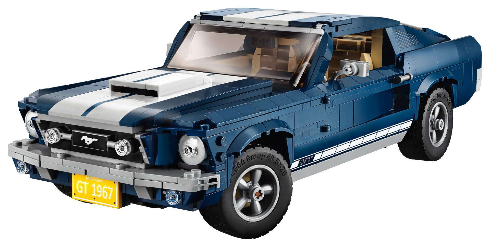 Ford Mustang GT 1967 Lego Creator Set (1)