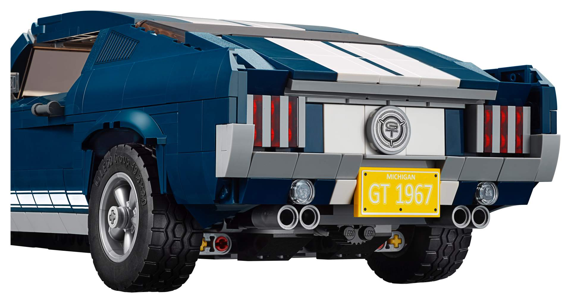 Ford Mustang GT 1967 Lego Creator Set (11)