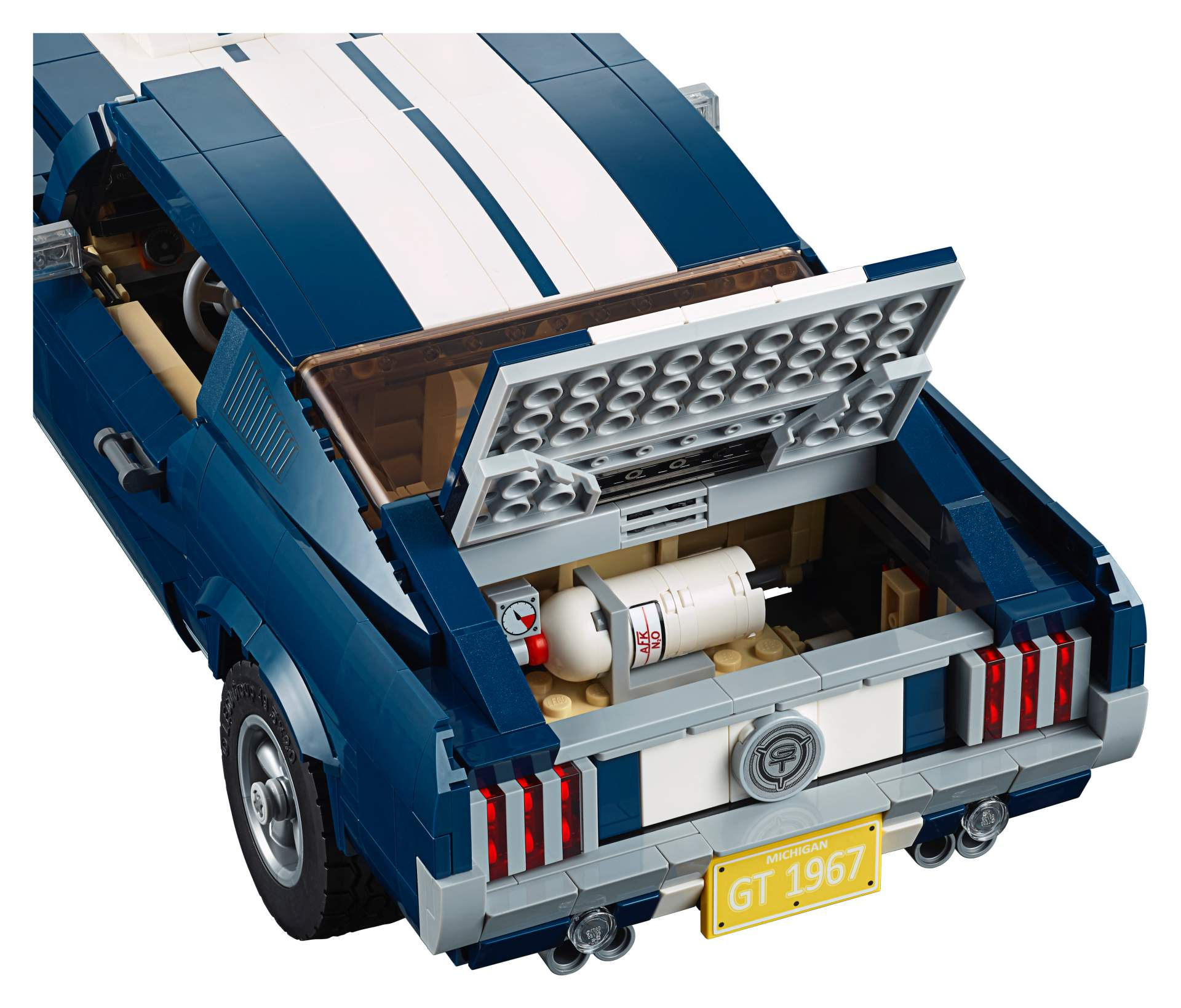 Ford Mustang GT 1967 Lego Creator Set (15)