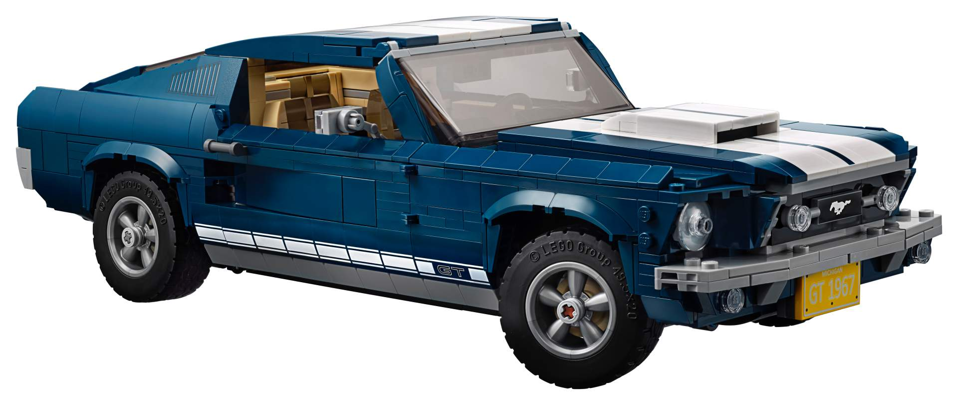 Ford Mustang GT 1967 Lego Creator Set (2)