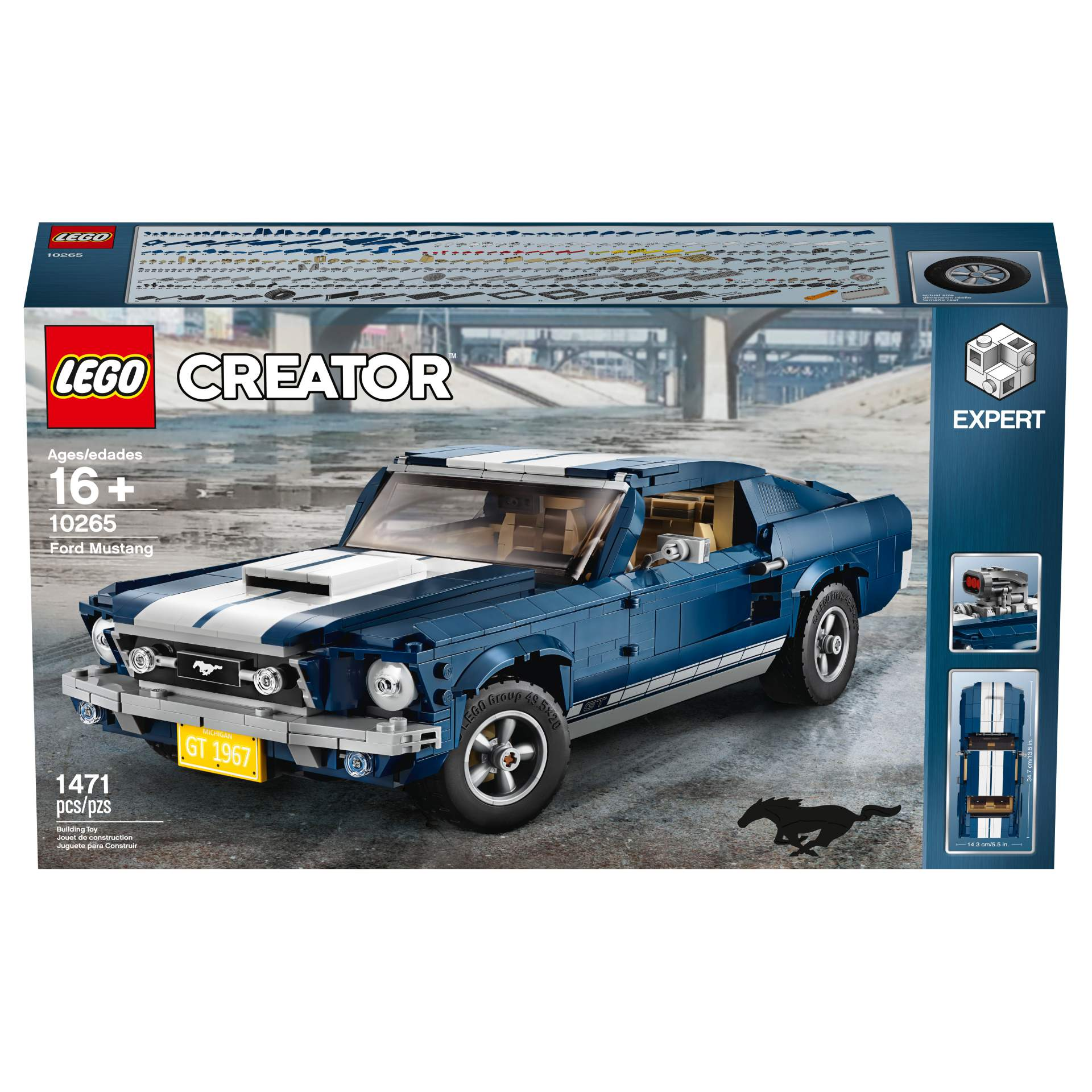 Ford Mustang GT 1967 Lego Creator Set (20)