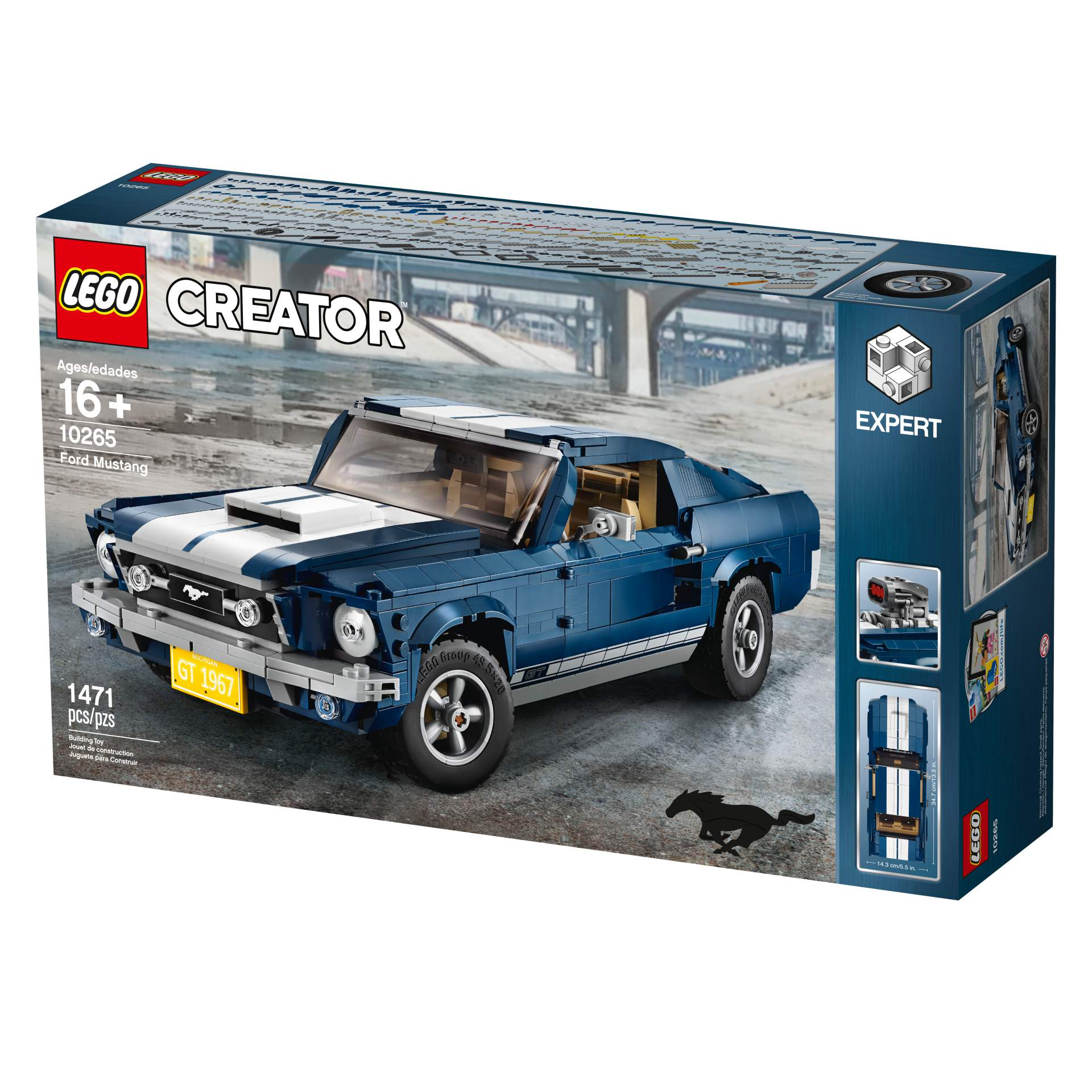 Ford Mustang GT 1967 Lego Creator Set (22)