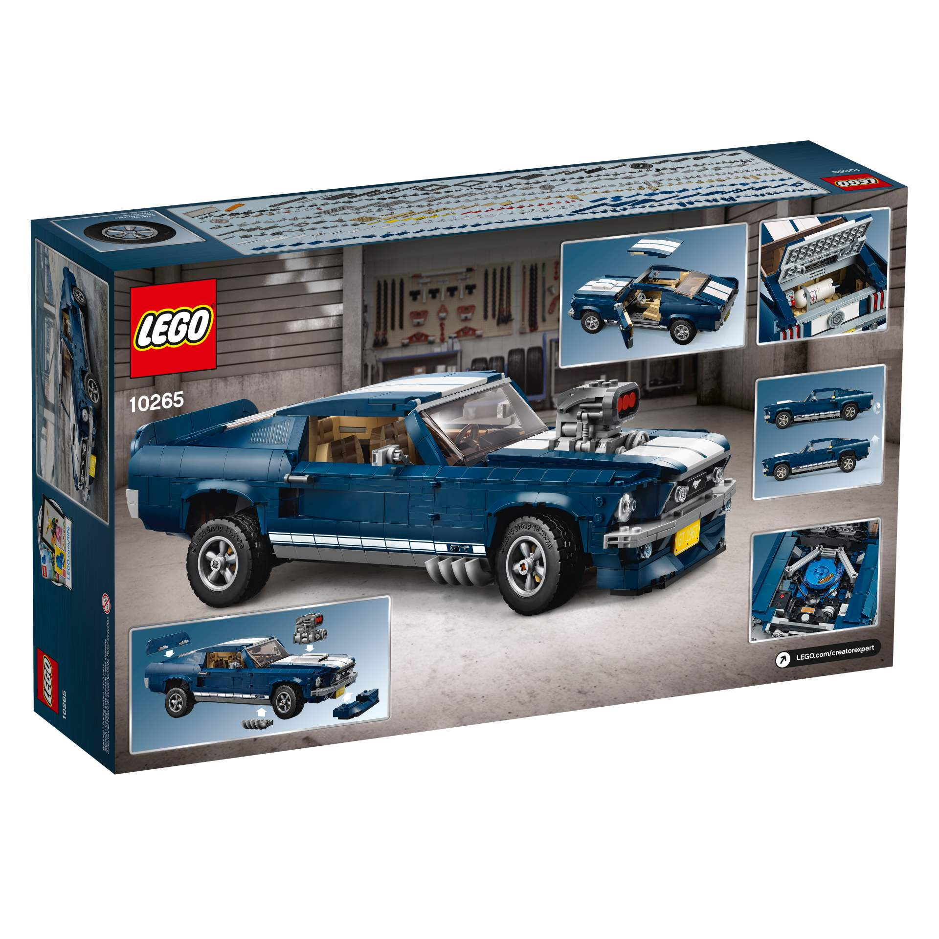 Ford Mustang GT 1967 Lego Creator Set (23)