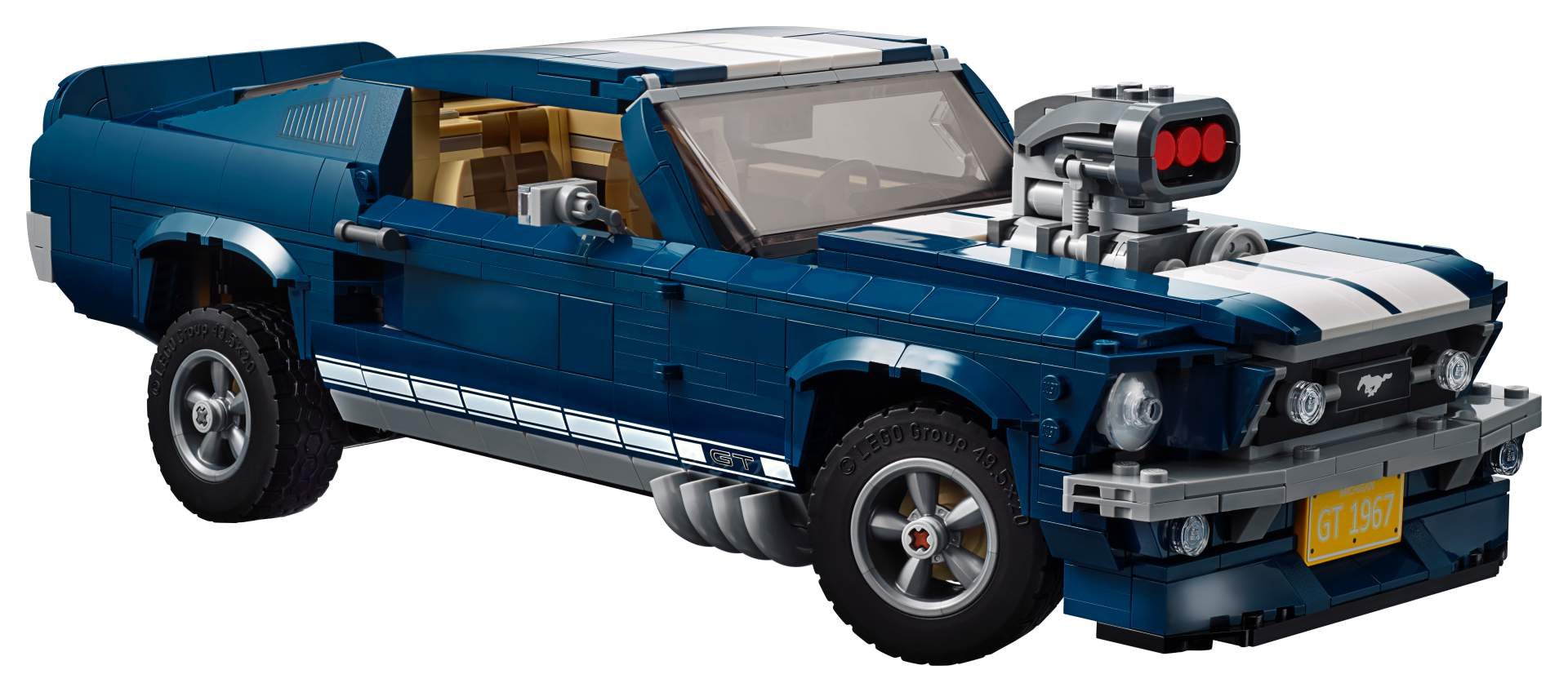 Ford Mustang GT 1967 Lego Creator Set (3)