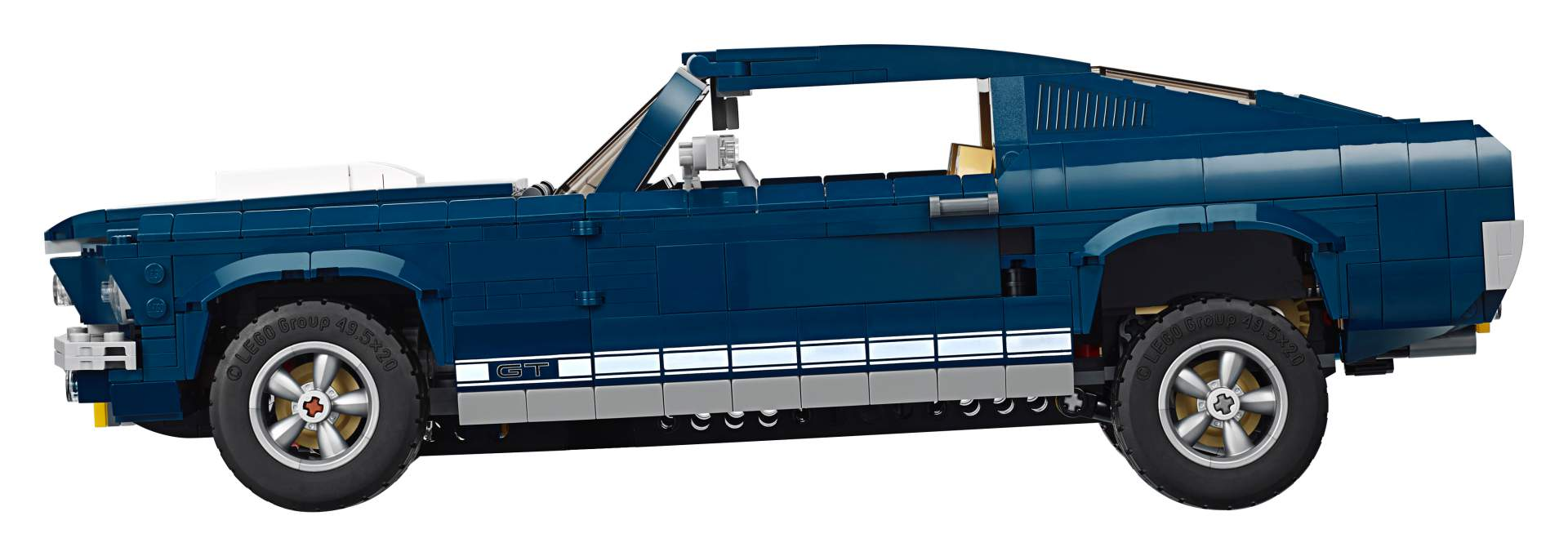 Ford Mustang GT 1967 Lego Creator Set (7)