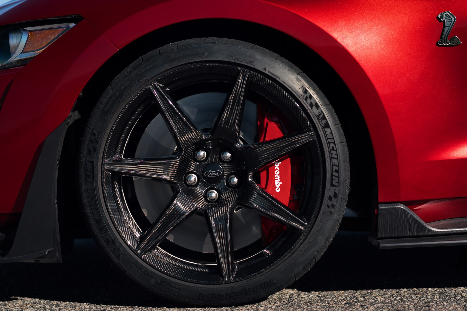 2020 Mustang Shelby GT500 wheel