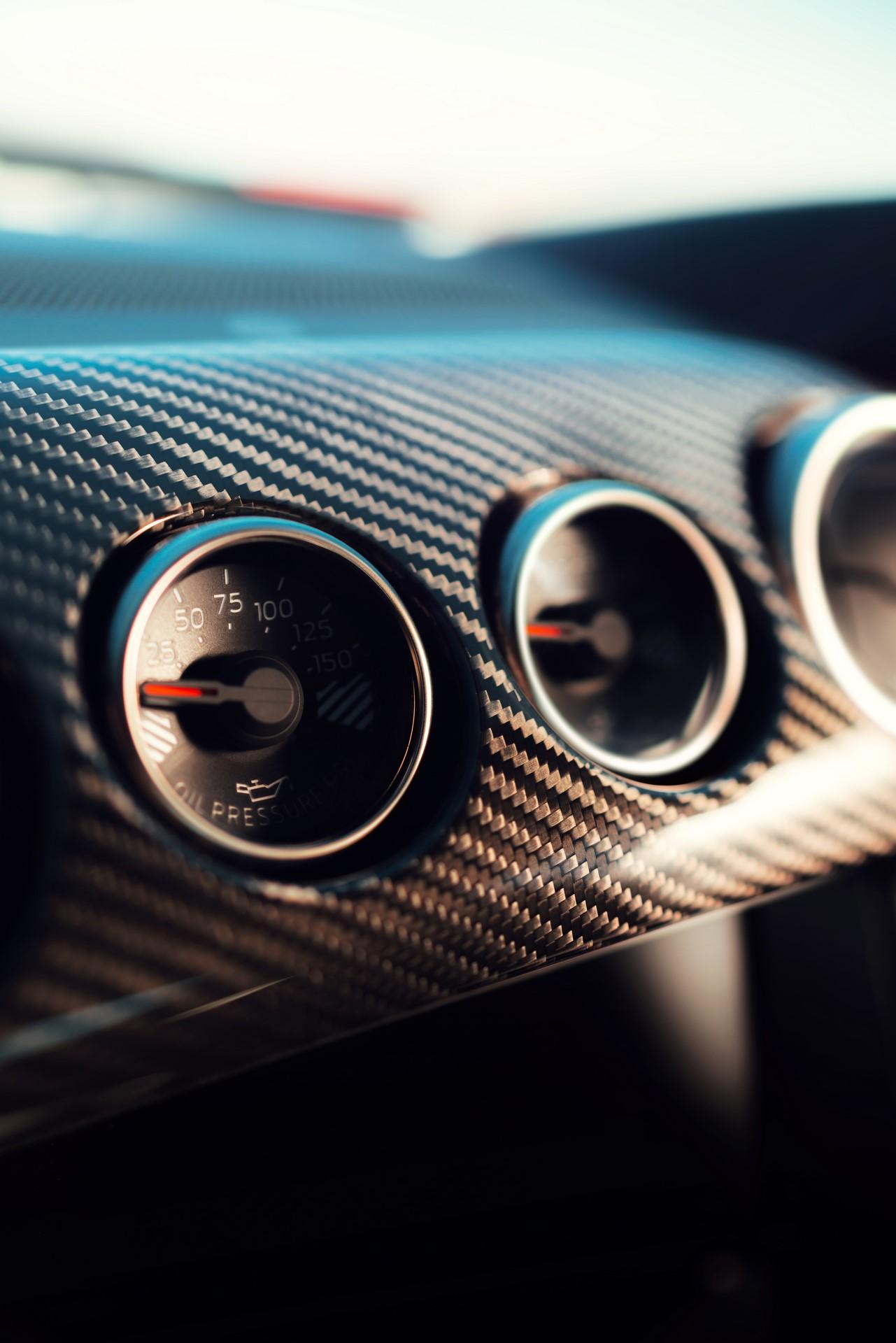 2020 Mustang Shelby GT500 interior