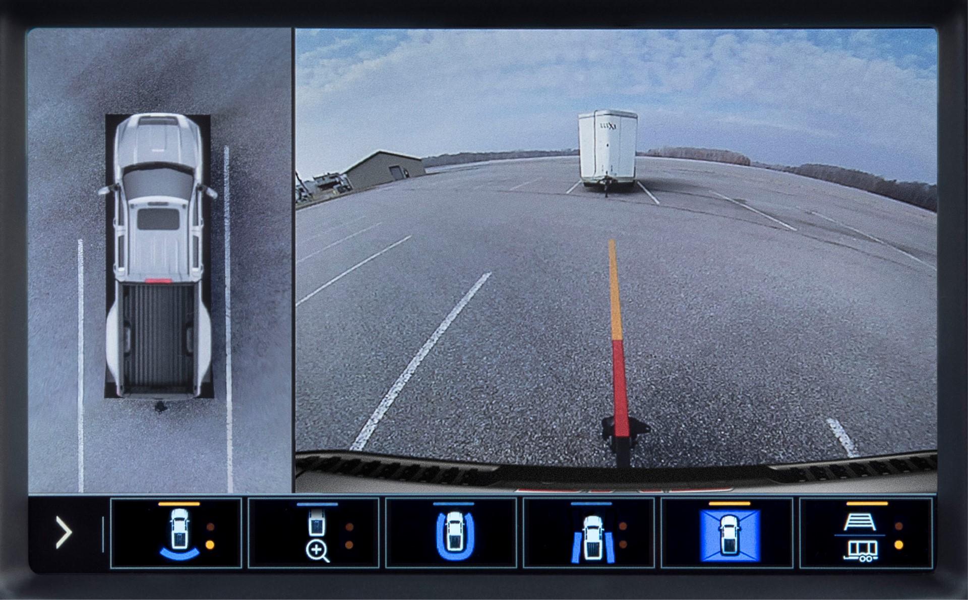 2020 GMC Sierra HD Rear Surround Camera View