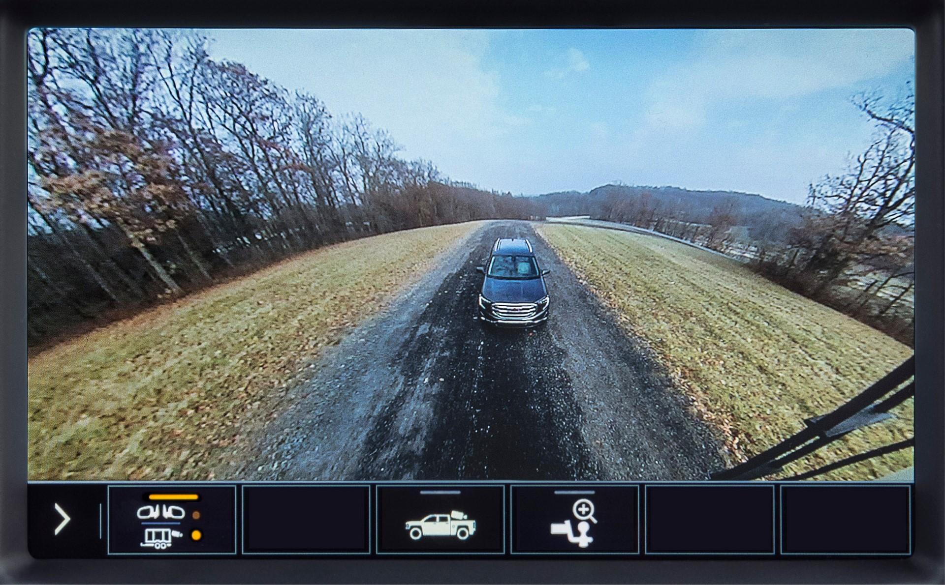2020 GMC Sierra HD Rear Trailer Camera View