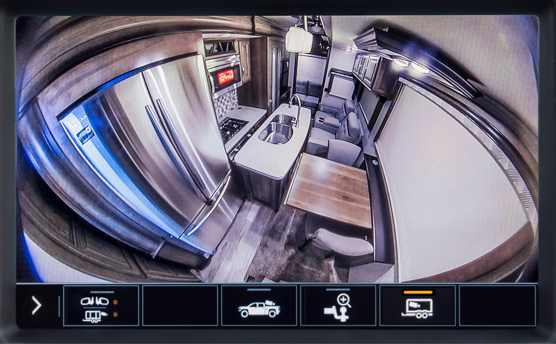 2020 GMC Sierra HD Inside Trailer View Camera