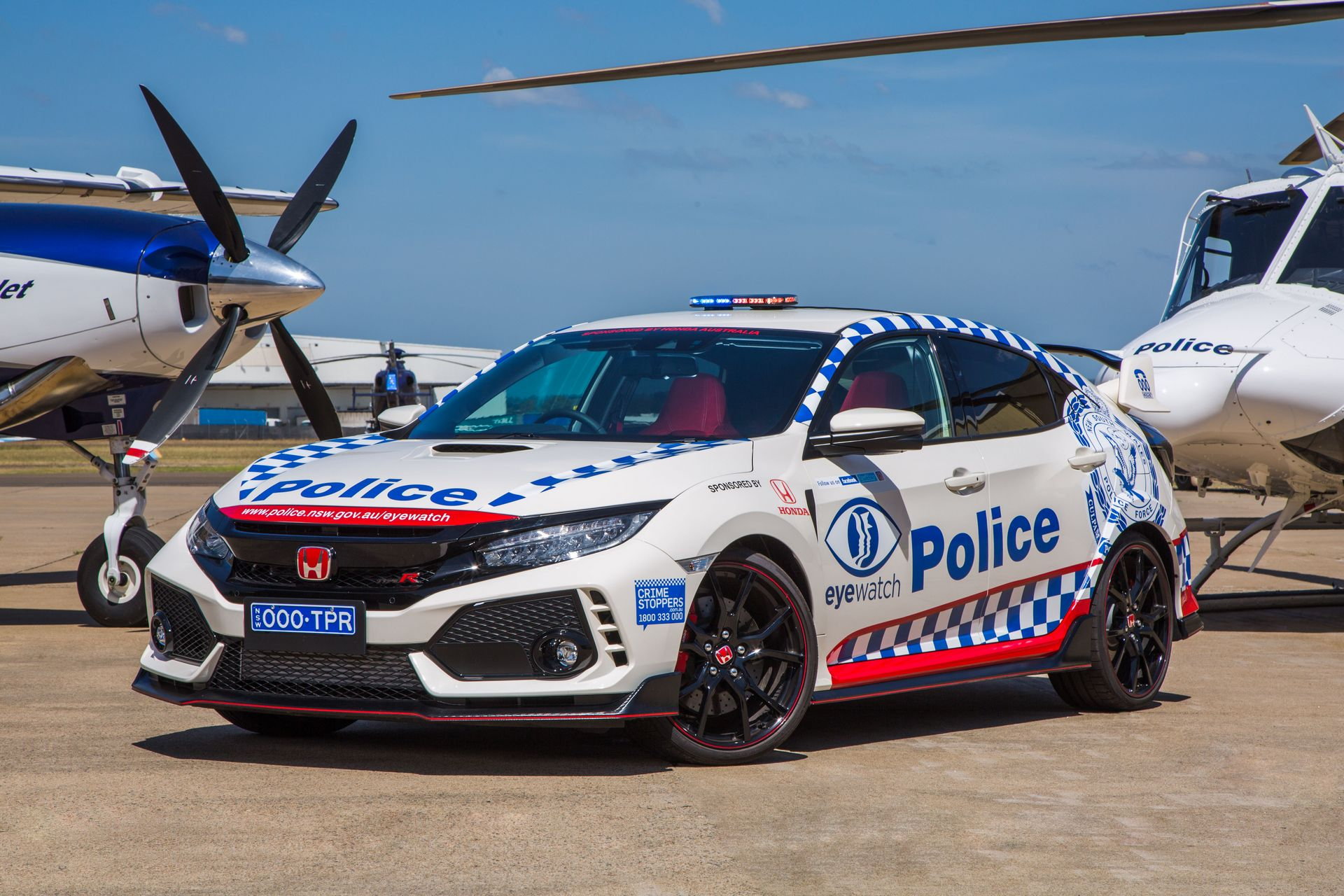 Honda Civic Type R police car Australia (1)