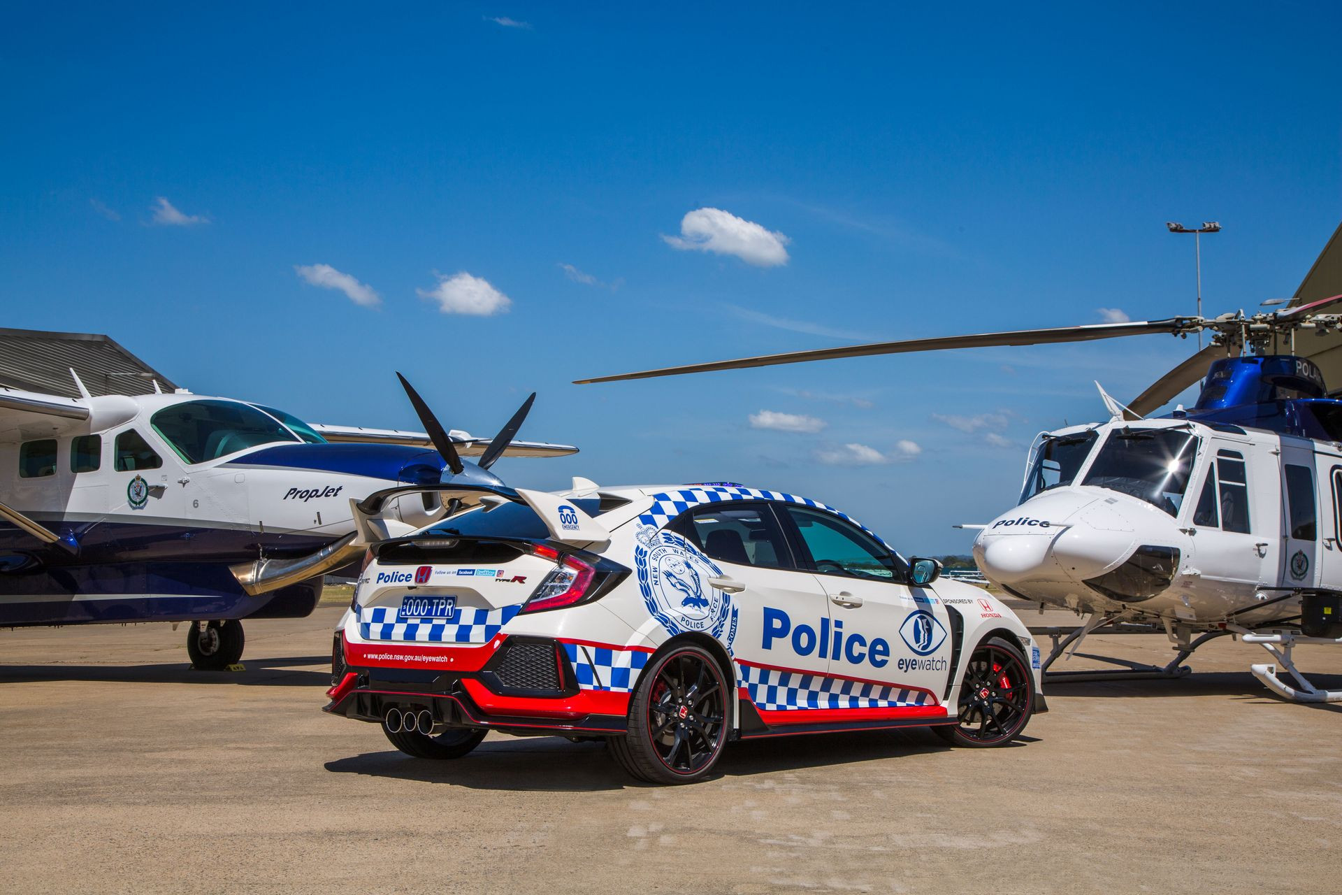 Honda Civic Type R police car Australia (2)