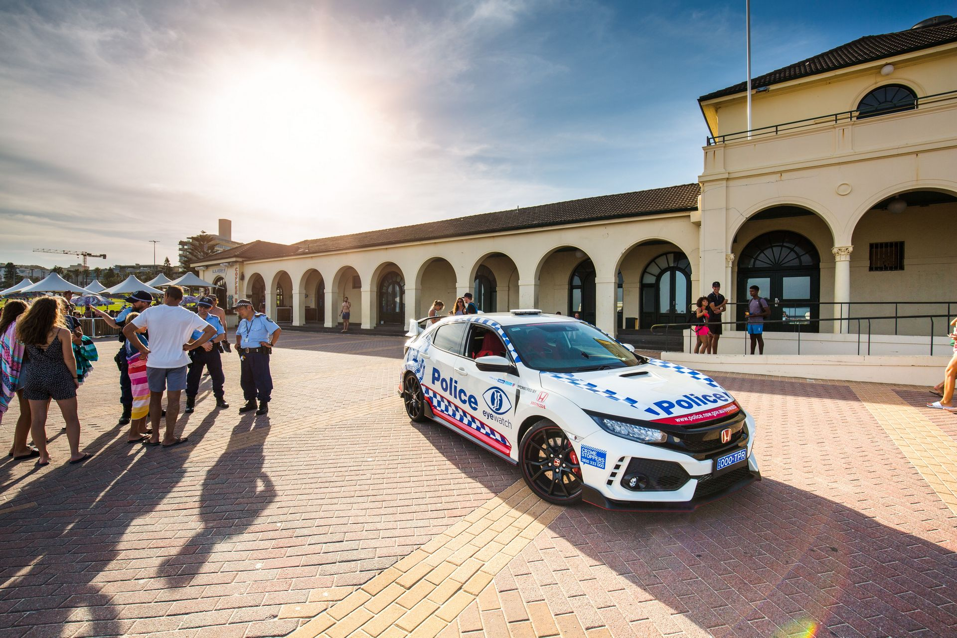 Honda Civic Type R police car Australia (3)