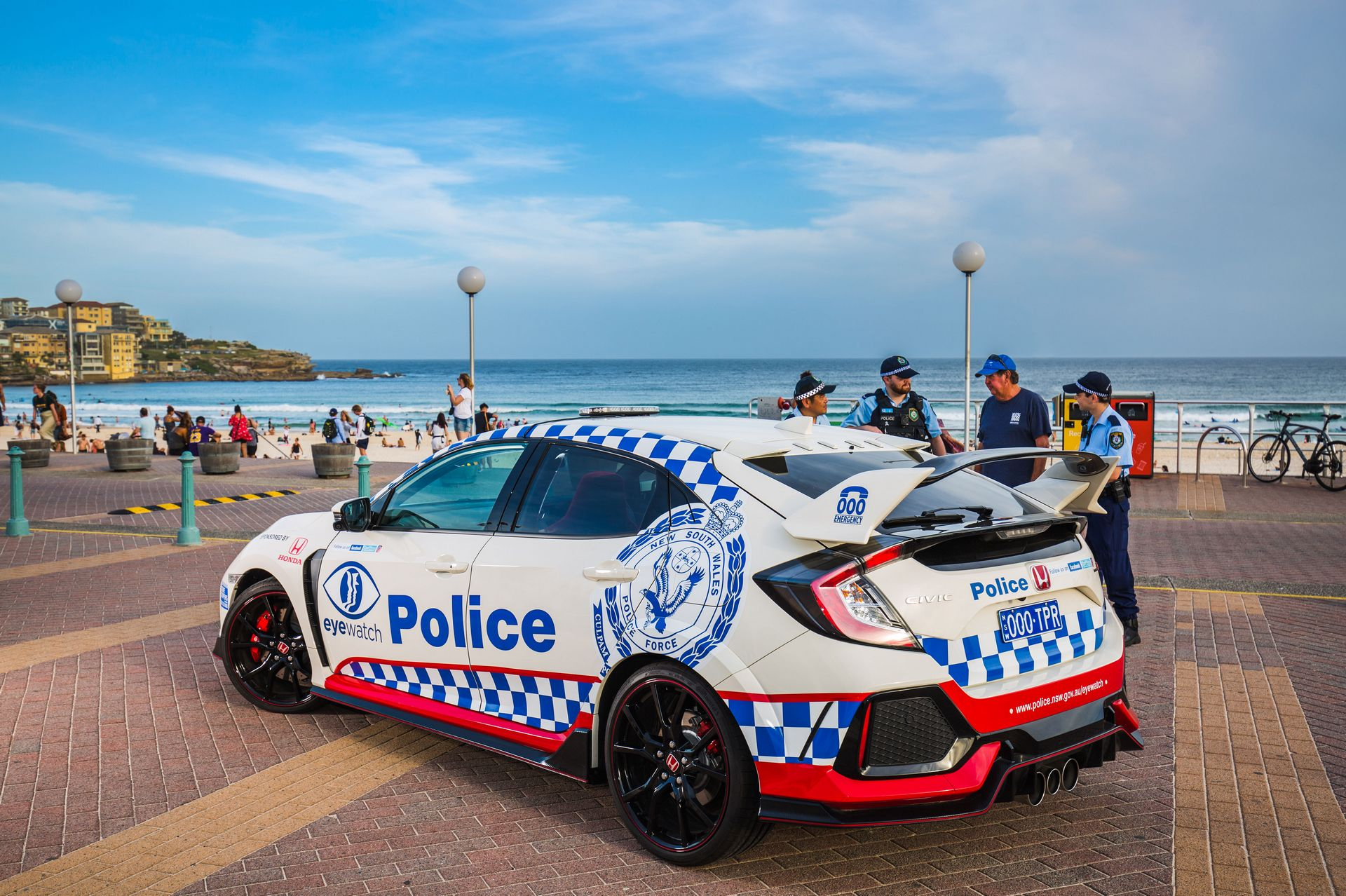 Honda Civic Type R police car Australia (4)
