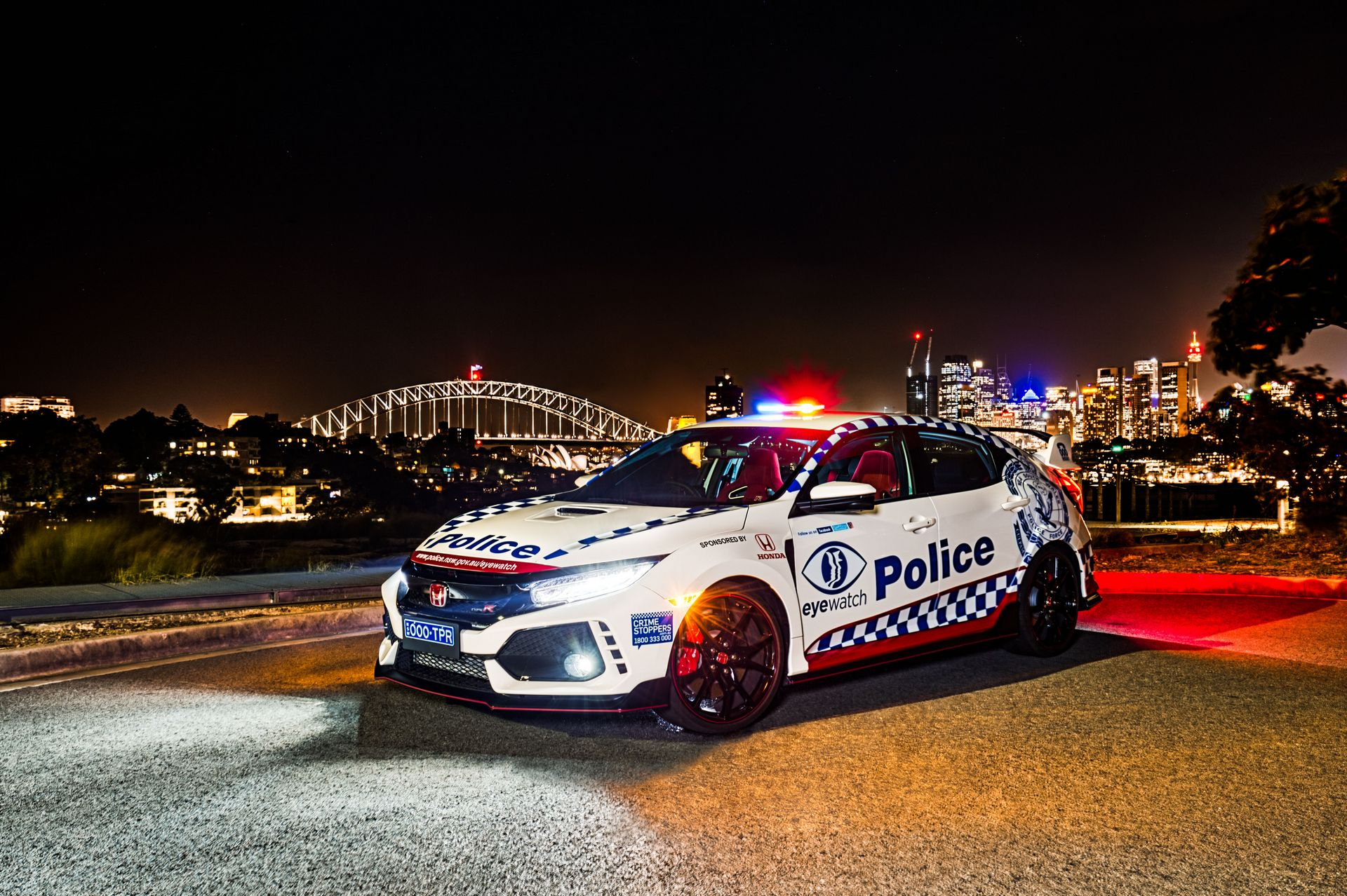 Honda Civic Type R police car Australia (5)