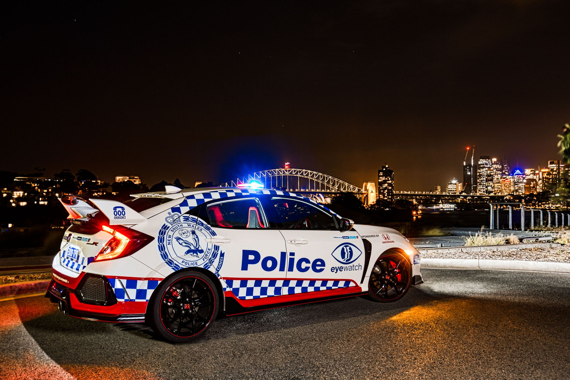 Honda Civic Type R police car Australia (6)