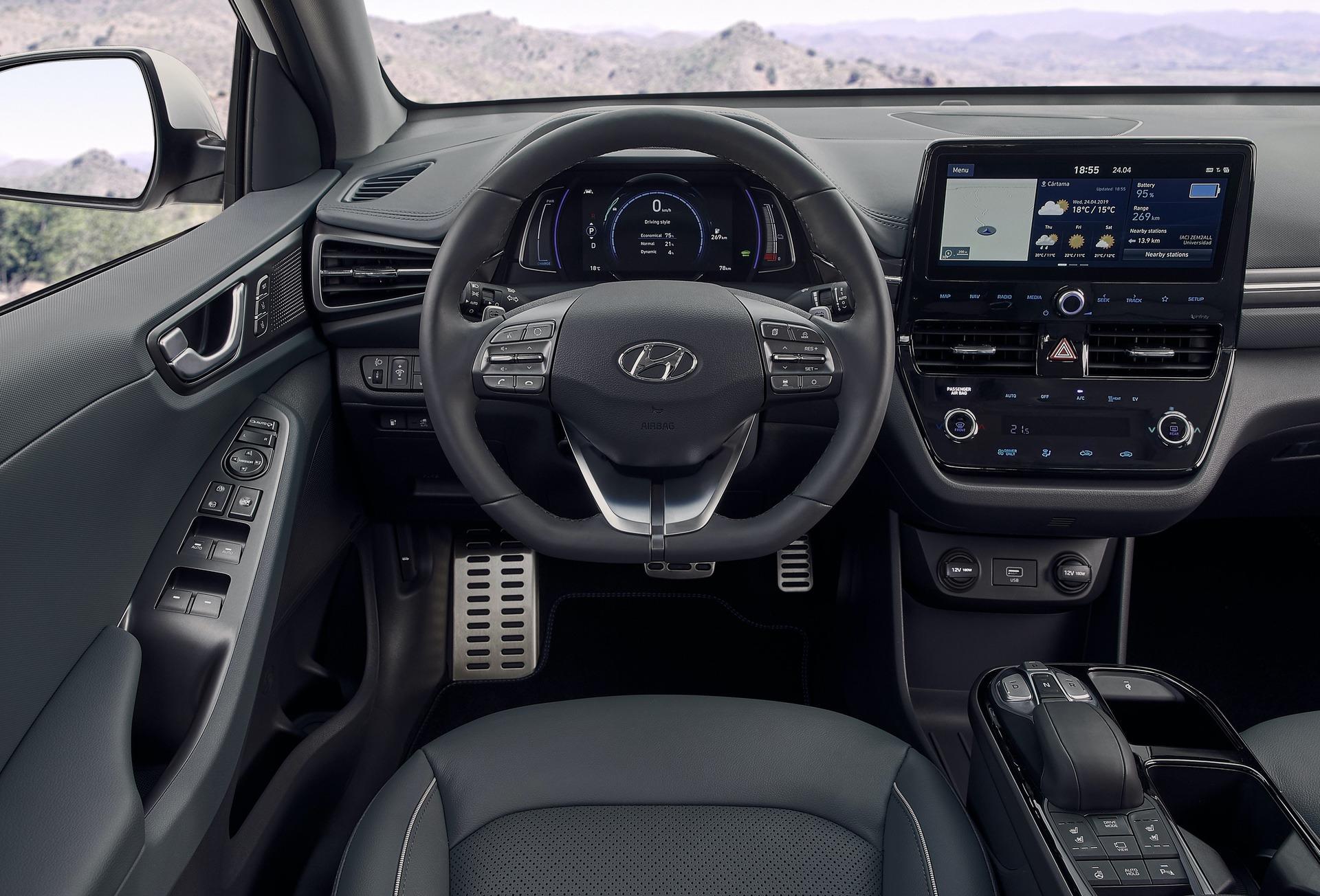New-Hyundai-IONIQ-Electric-Interior-3