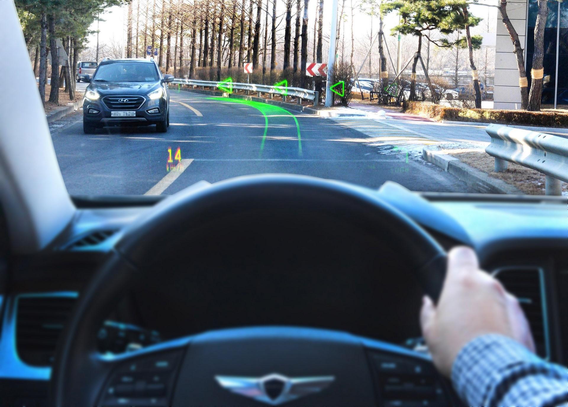 Hyundai Motor Group_WayRay_AR navigation 1