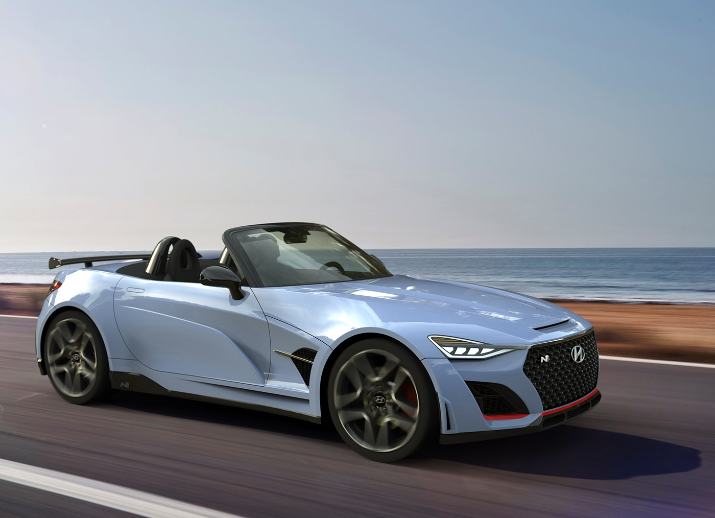 Hyundai N Roadster renderings (3)