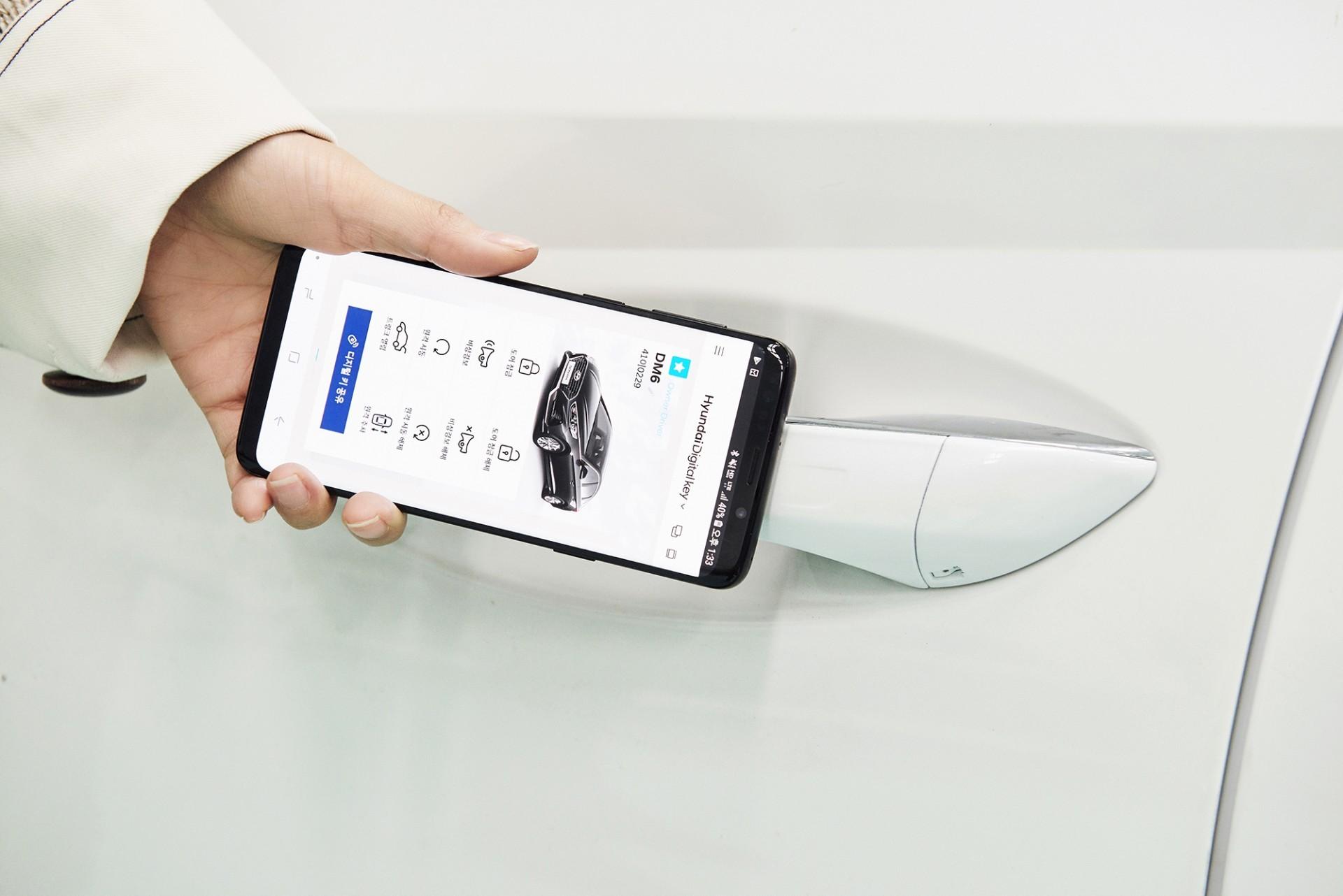 190304_Hyundai Motor Group Develops Smartphone-based Digital Key_Press Photo1