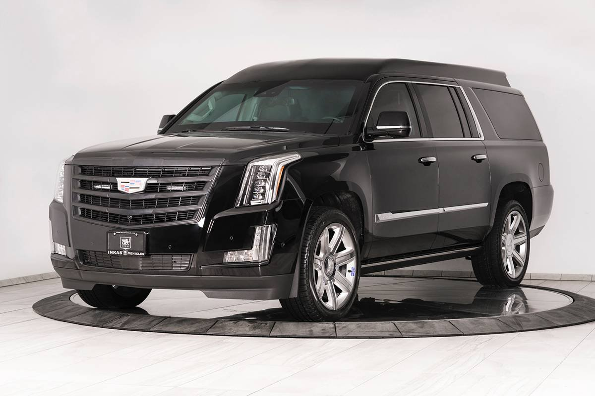 Inkas armored Cadillac Escalade Chairman Package (1)