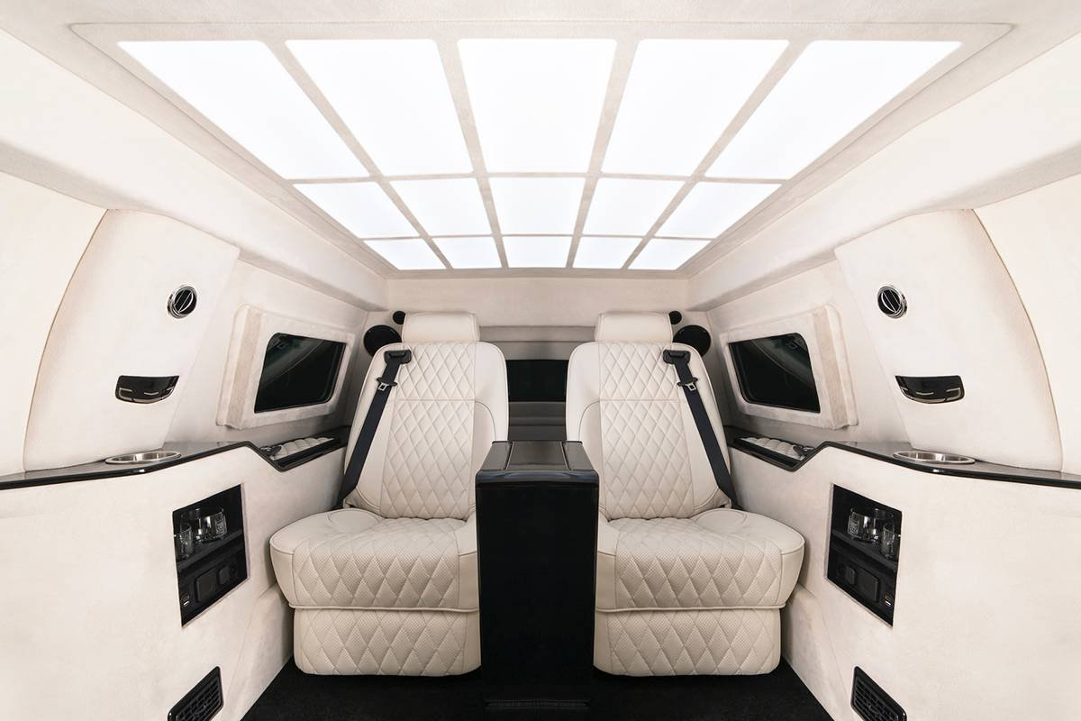Inkas armored Cadillac Escalade Chairman Package (10)
