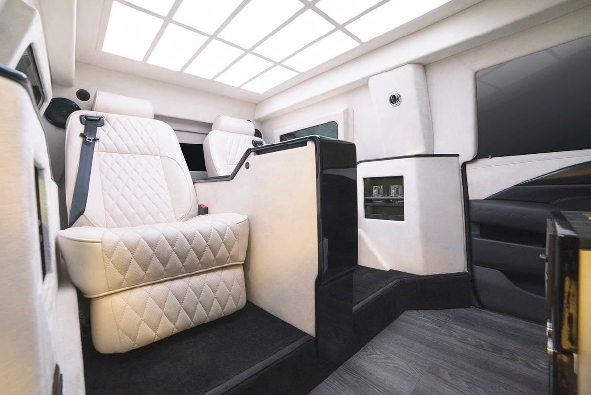 Inkas armored Cadillac Escalade Chairman Package (11)