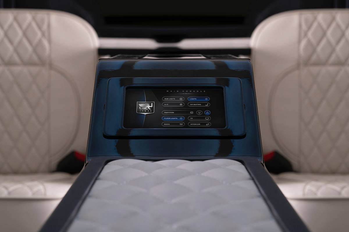 Inkas armored Cadillac Escalade Chairman Package (12)
