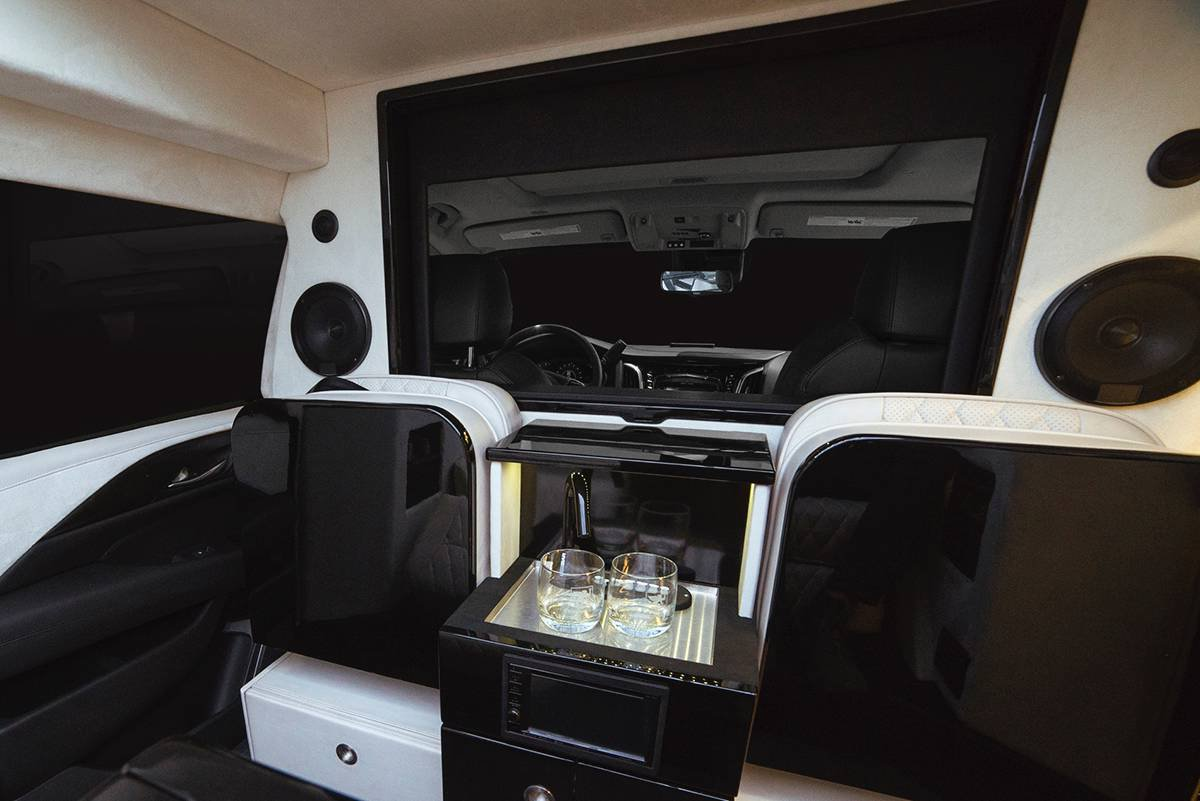 Inkas armored Cadillac Escalade Chairman Package (14)