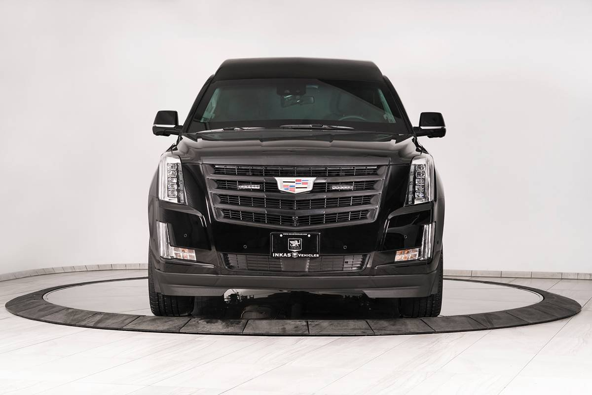 Inkas armored Cadillac Escalade Chairman Package (2)