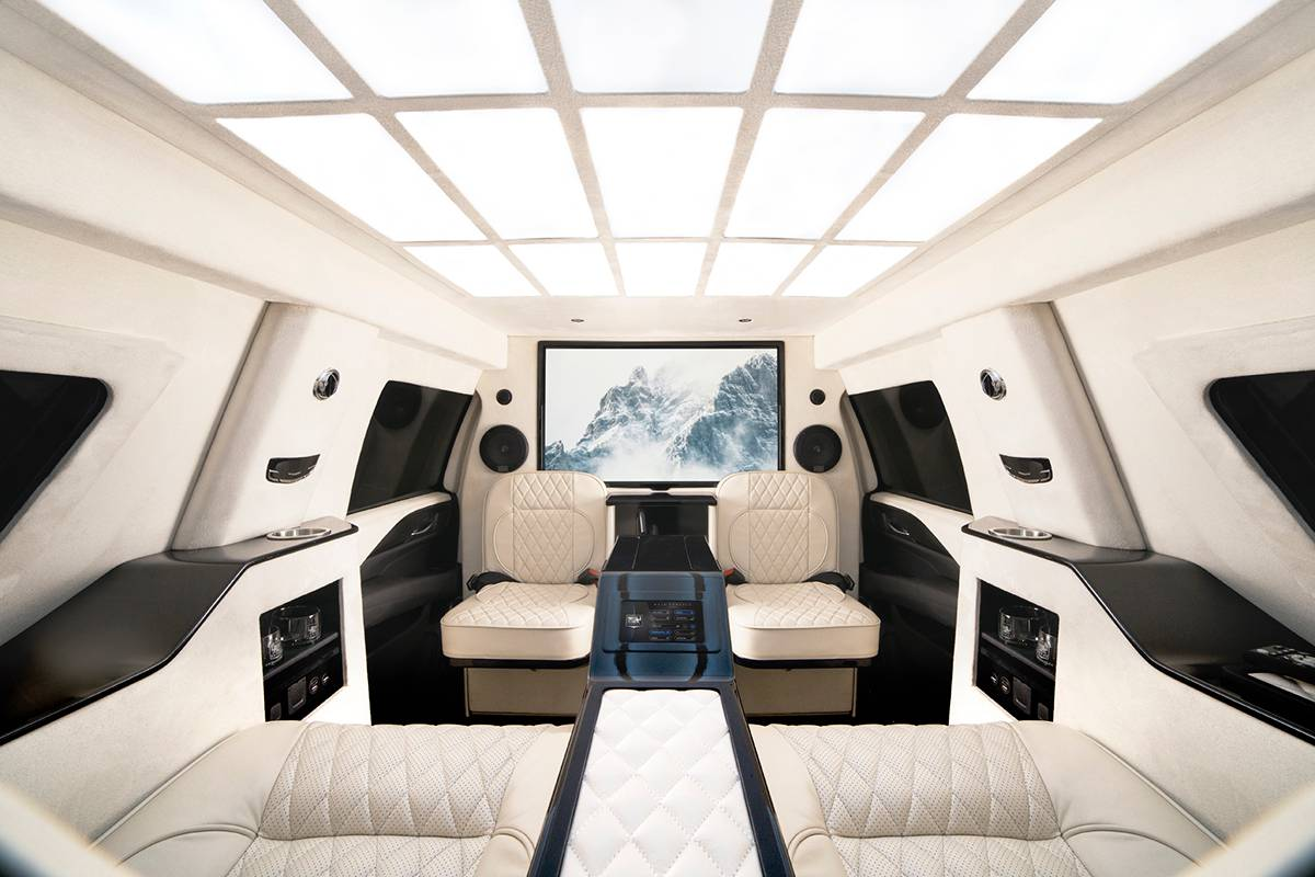 Inkas armored Cadillac Escalade Chairman Package (9)