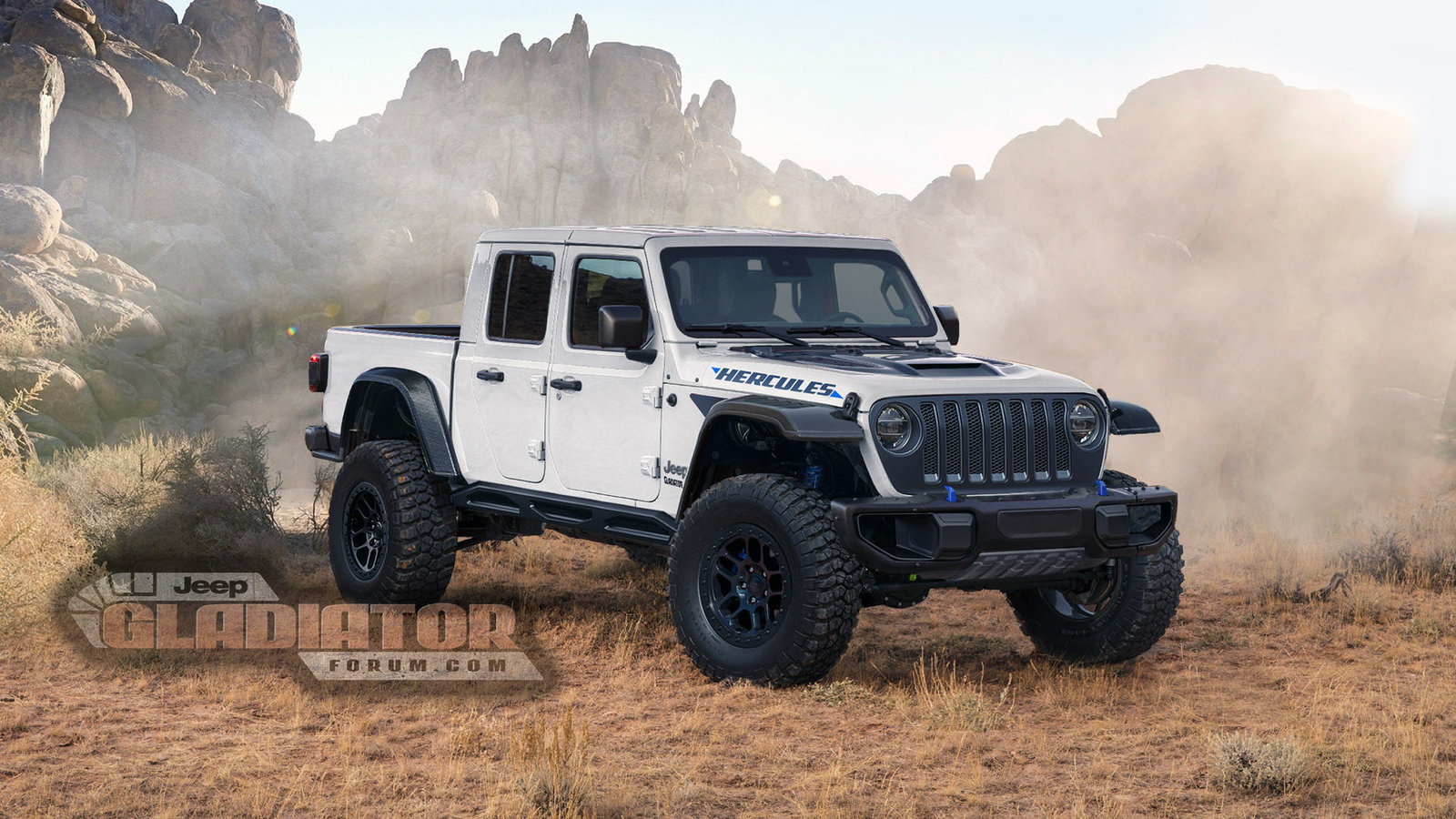 Jeep Gladiator Hercules renderings (2)