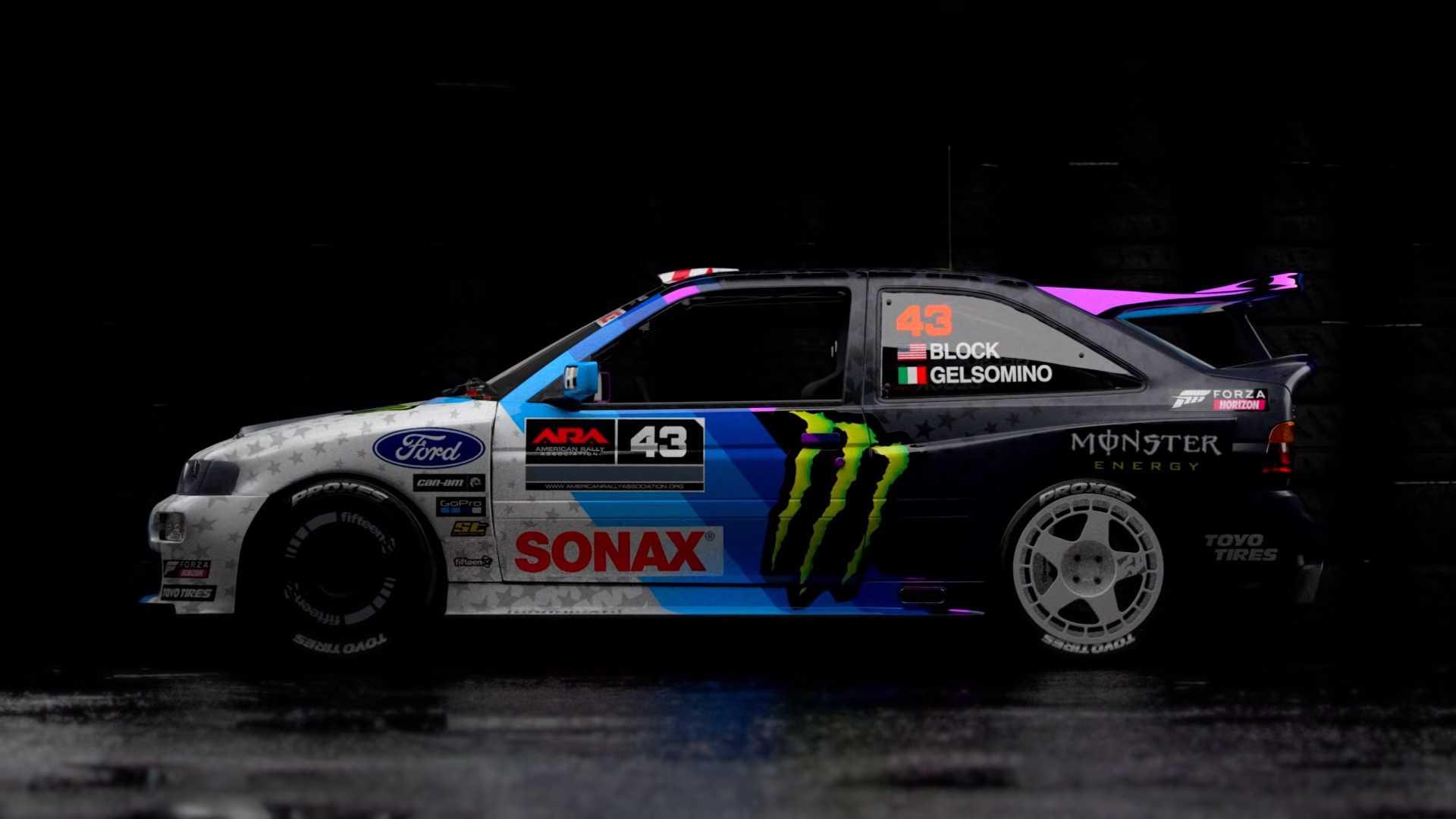 Ken Block Ford Escort Cosworth (1)
