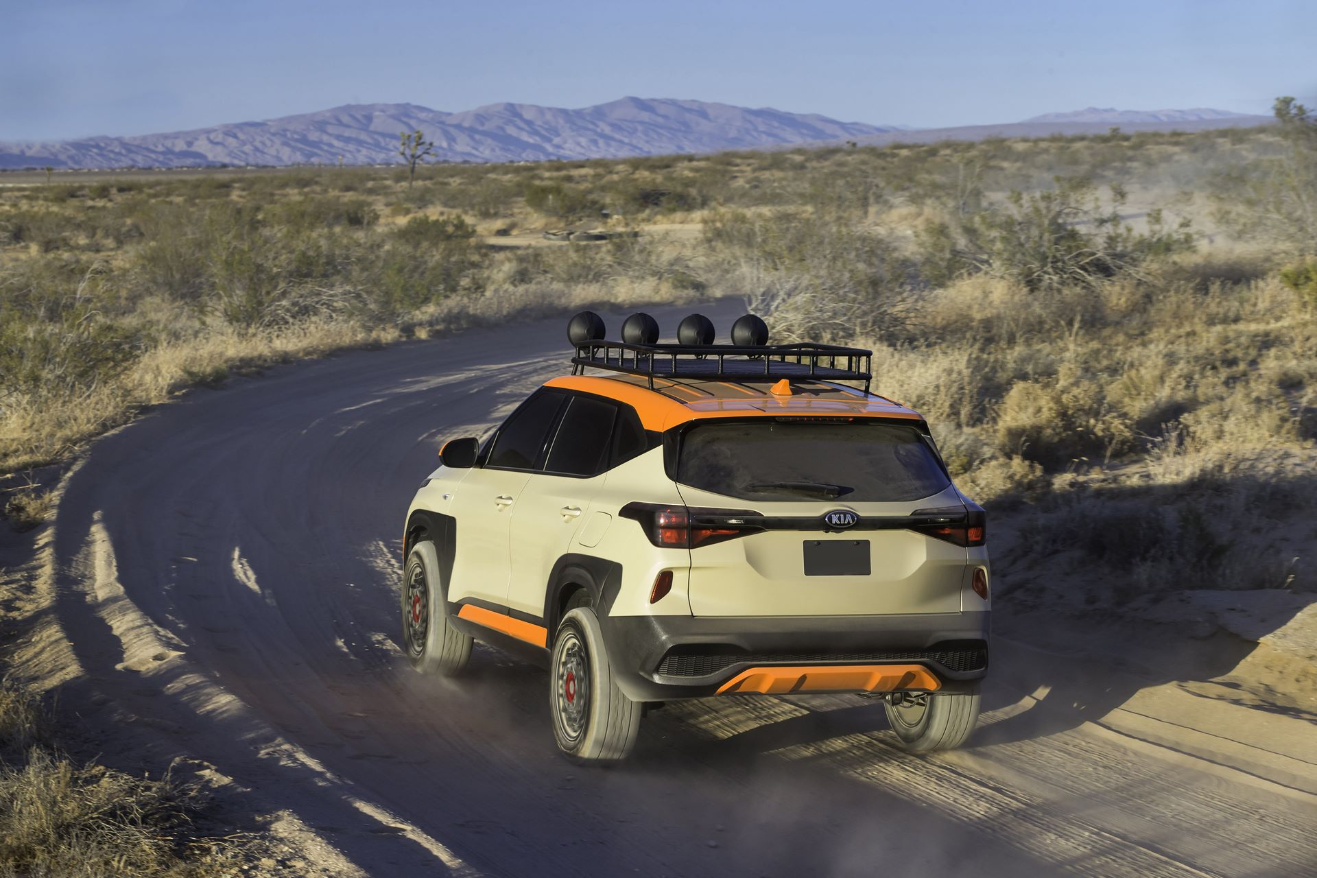 Seltos X-Line Trail Attack Concept
