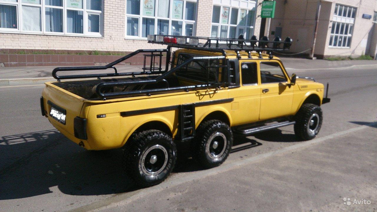 Lada Niva 6×6 Pickup (4)