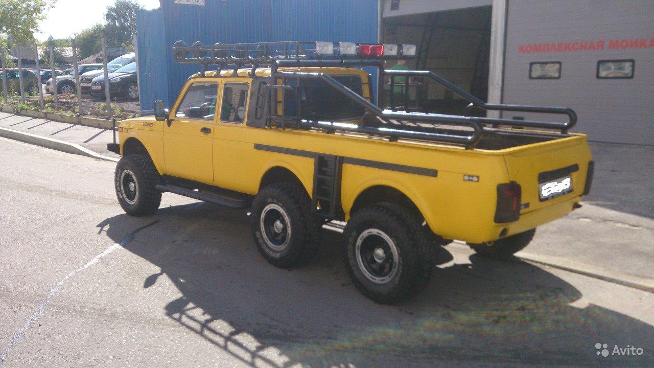 Lada Niva 6×6 Pickup (6)